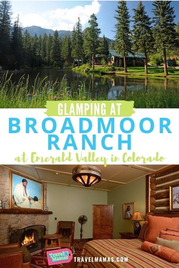 Glamping at Broadmoor Ranch at Emerald Valley in Colorado