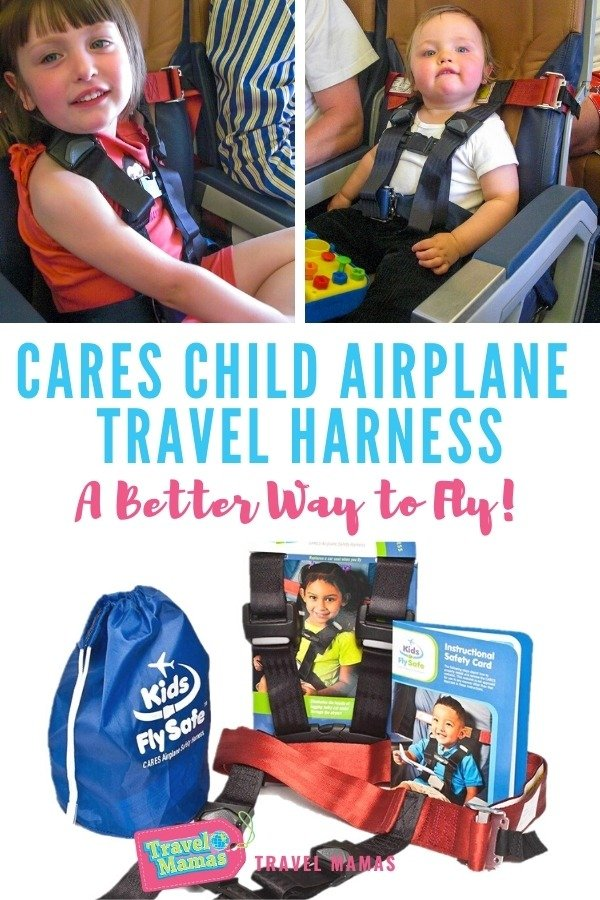CARES Child Airplane Travel Harness for Toddlers and Young Children