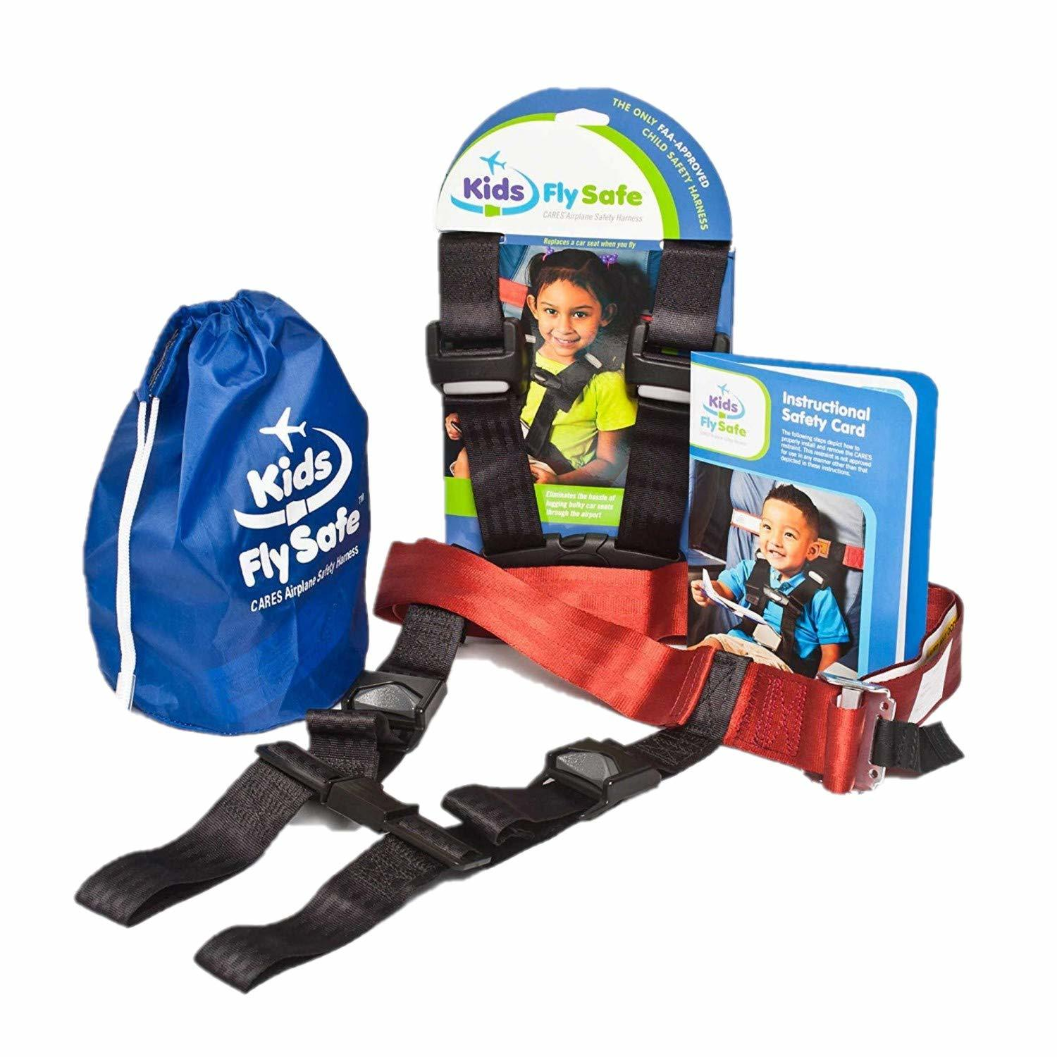 CARES Toddler Airplane Travel Harness (Photo credit: CARES by Kids Fly Safe)