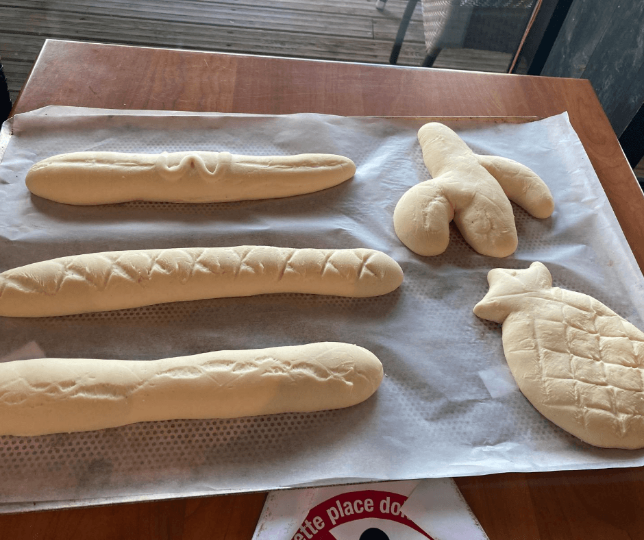 Bread making class at CenterParcs France Trois Fôrets