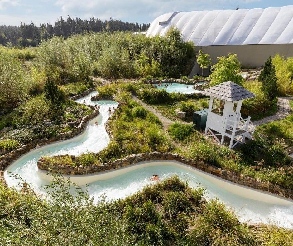 CenterParcs Trois Fôrets lazy river