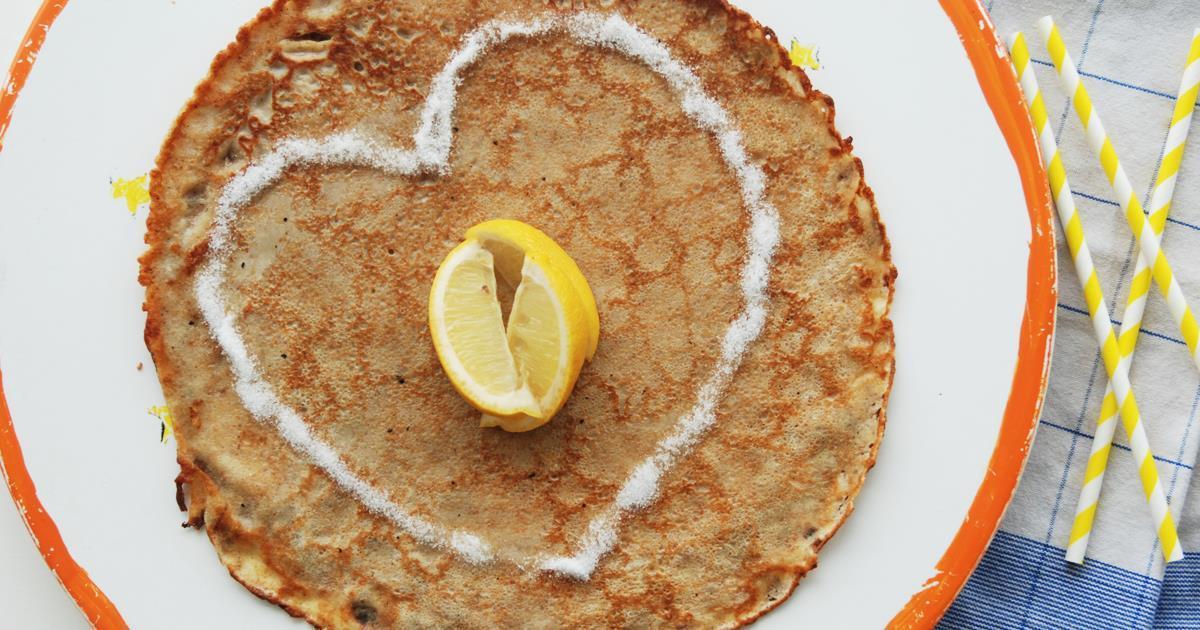 Dutch pancake from PANCAKES Amsterdam