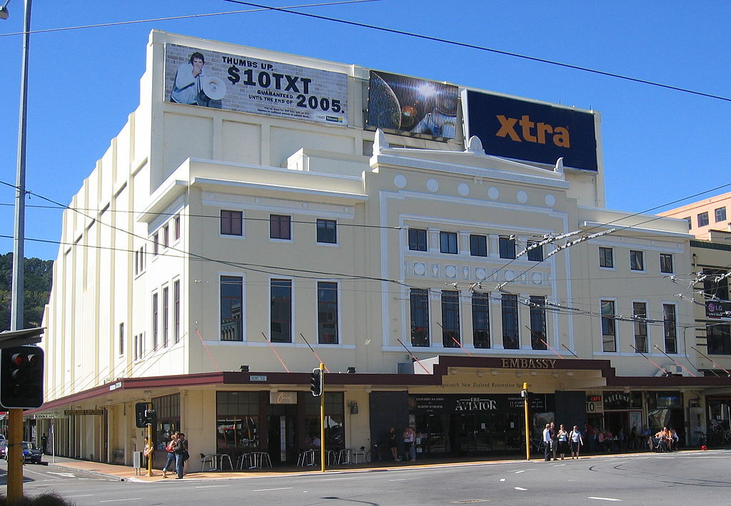 The Embassy Theatre in Wellington, site of Lord of the Rings premiere