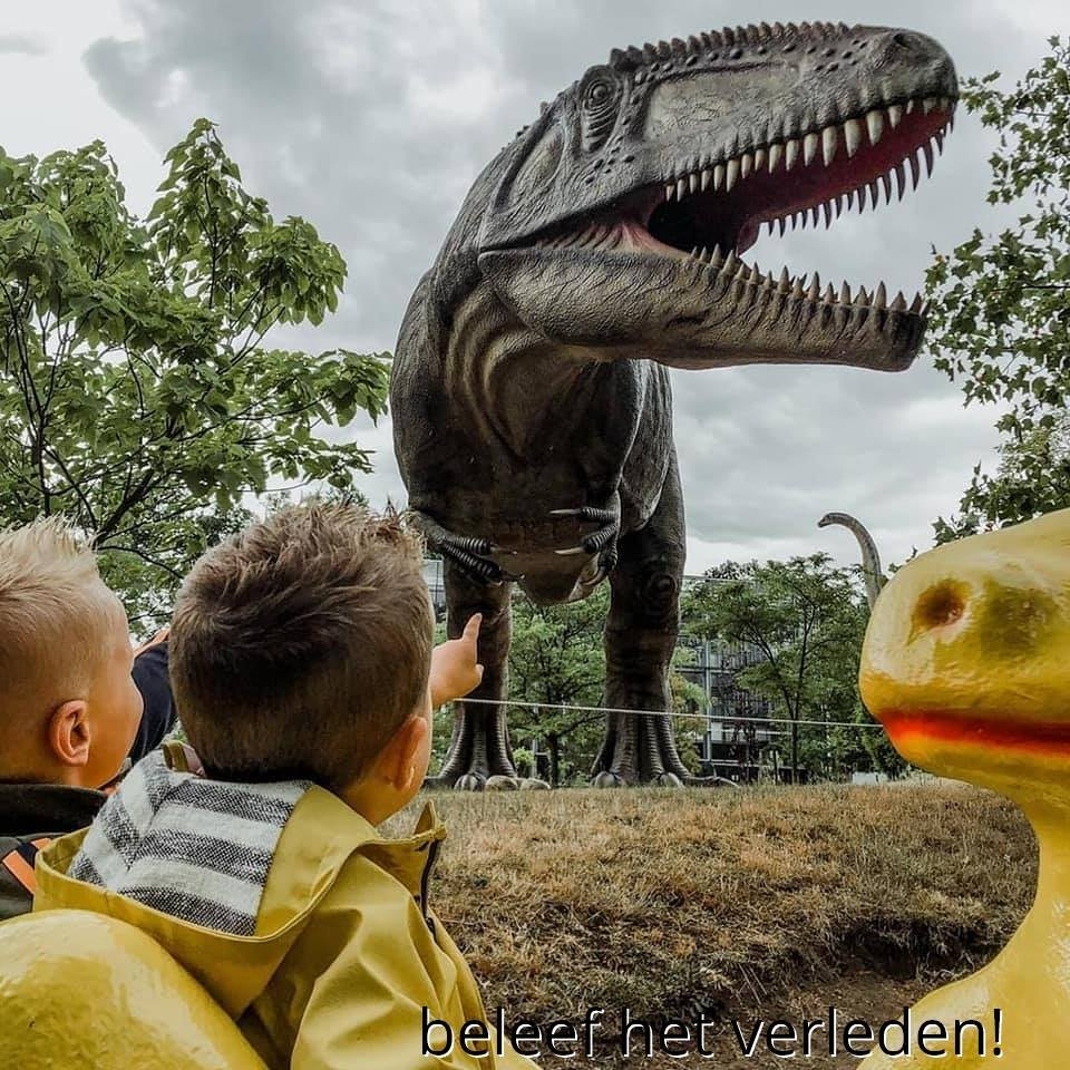 Otijdmuseum Boxtel Dinosaur Museum in the Netherlands with kids