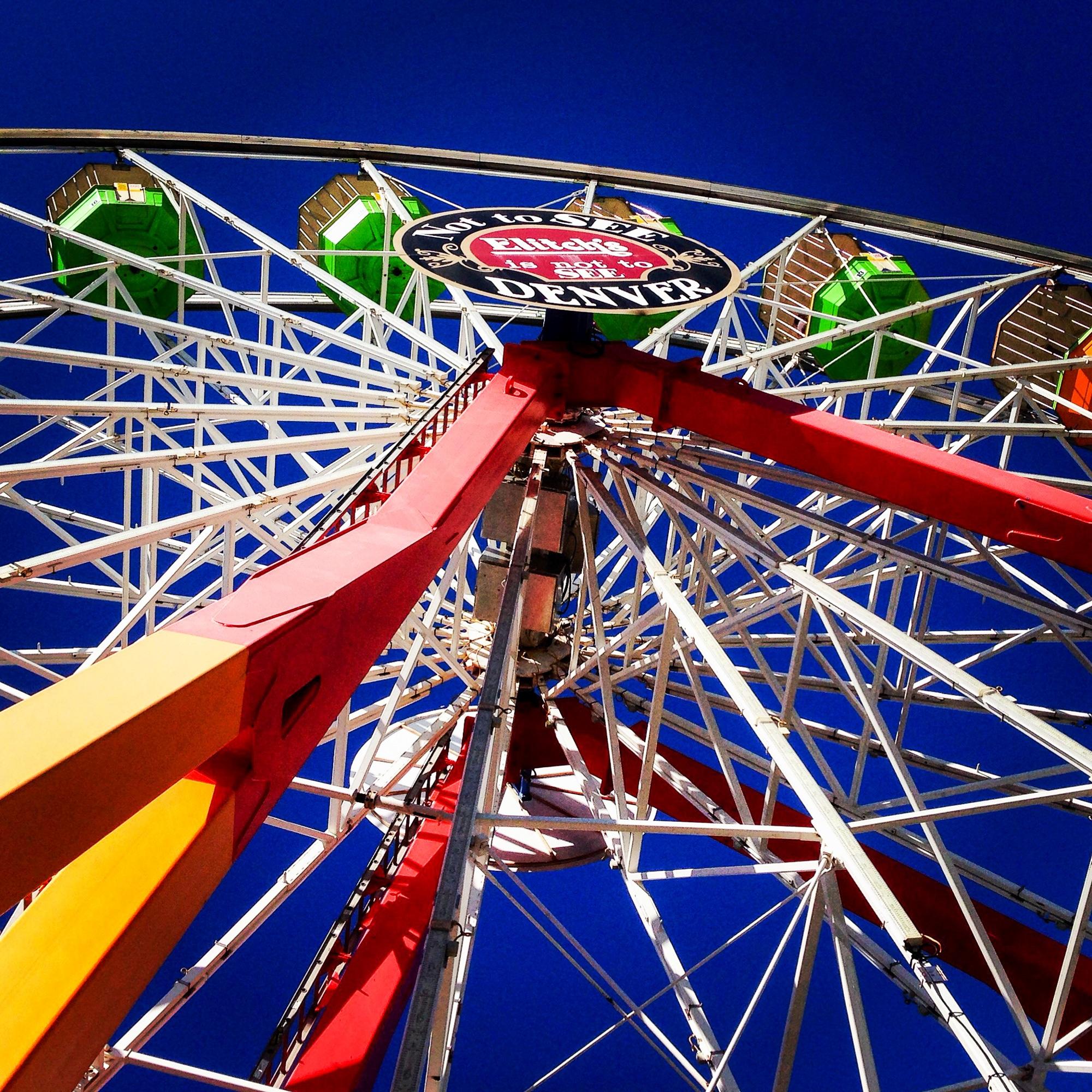 Ferris wheel at Elitch Gardens