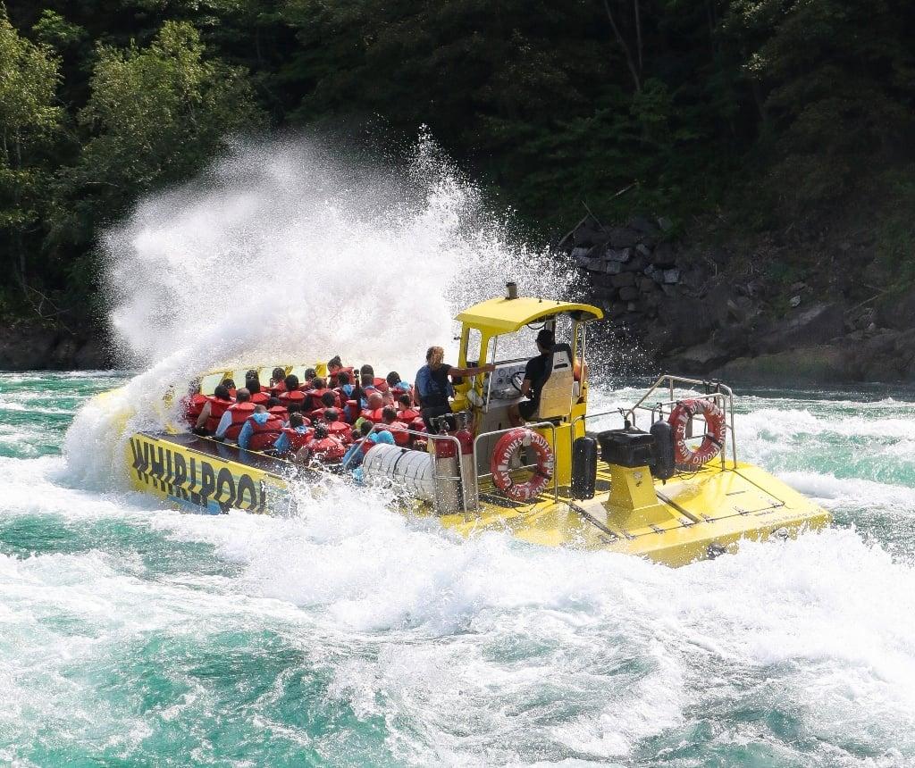 Whirlpool Jet Boat Tour at Niagara Falls