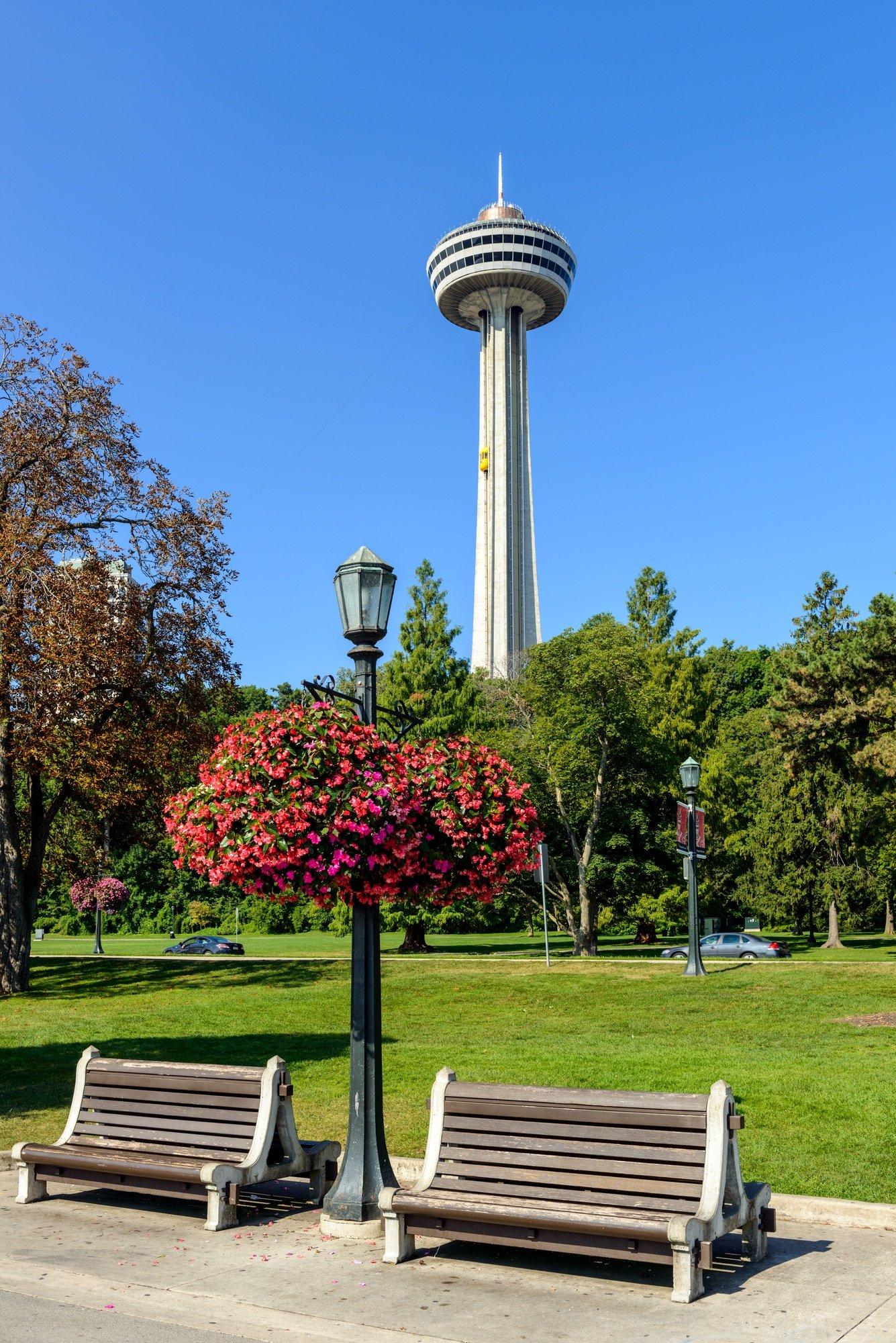 Skylon Tower in Niagara Falls, Ontario