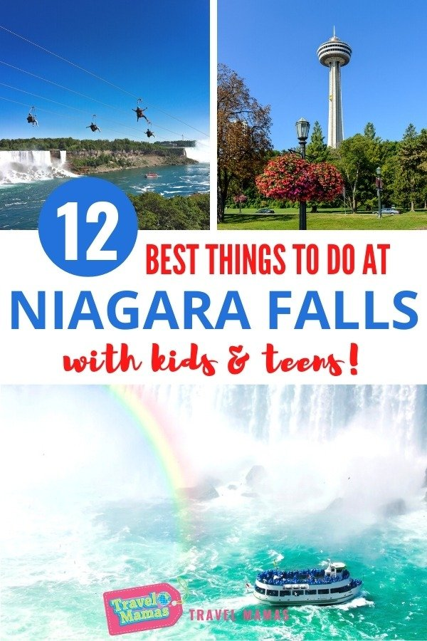Best Things to Do at Niagara Falls with Kids and Teens
