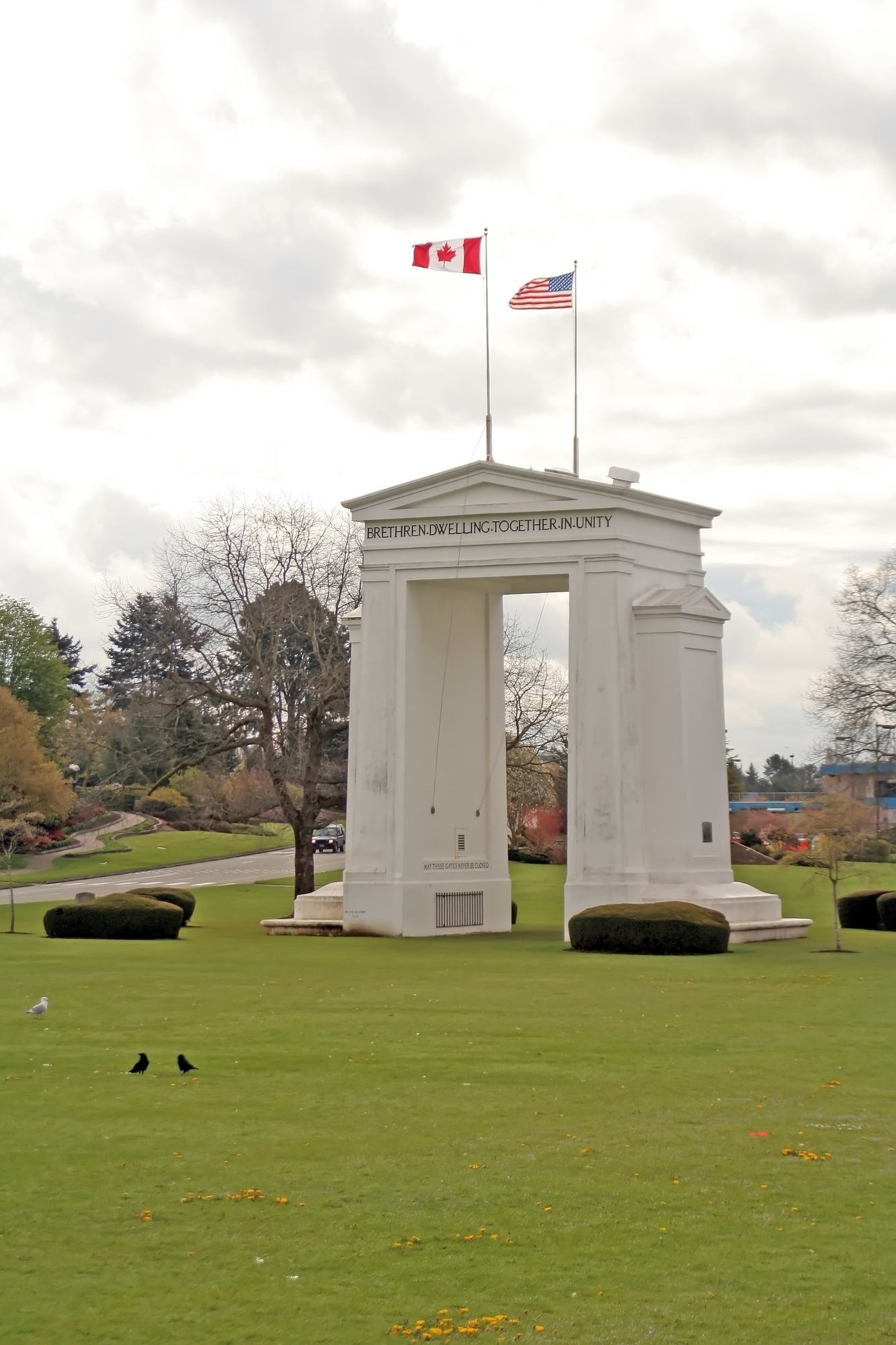Peace Arch between Blaine and Surrey
