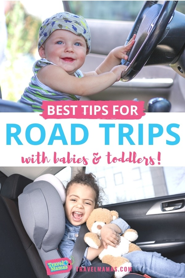 Best Tips for Road Trips with Babies and Toddlers