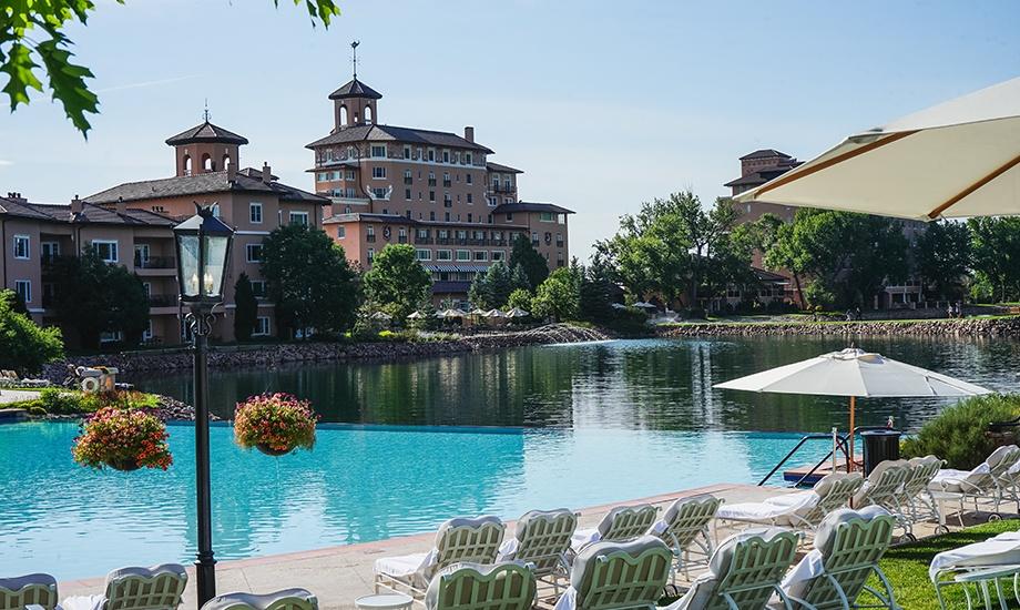 Pool at The Broadmoor Hotel