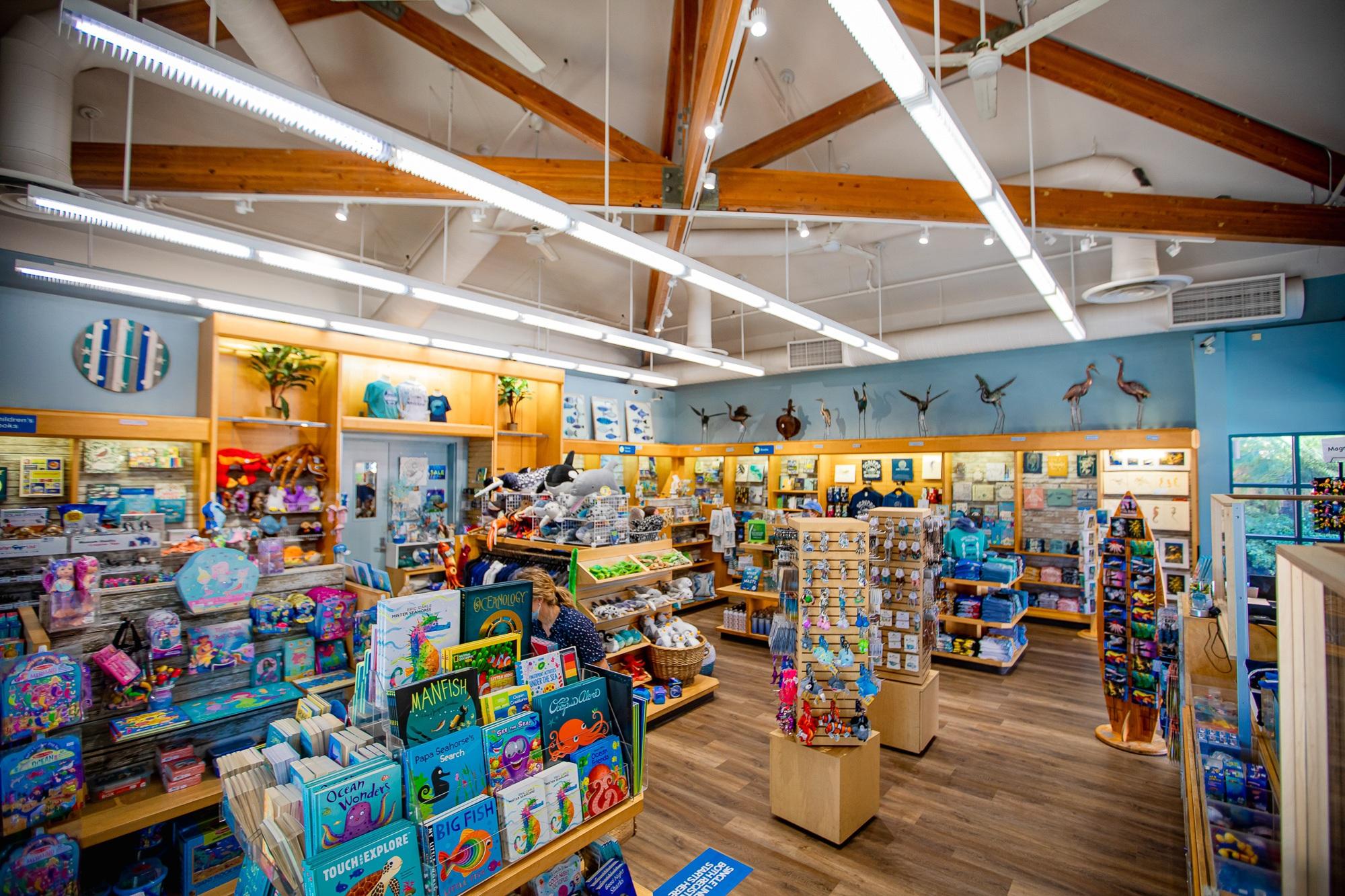 Birch Aquarium Gift Shop