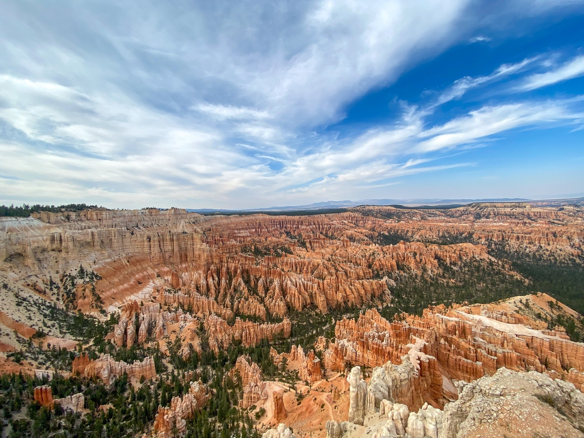 Bryce Amphitheater as seen from Sunset Point in Bryce Canyon National Park