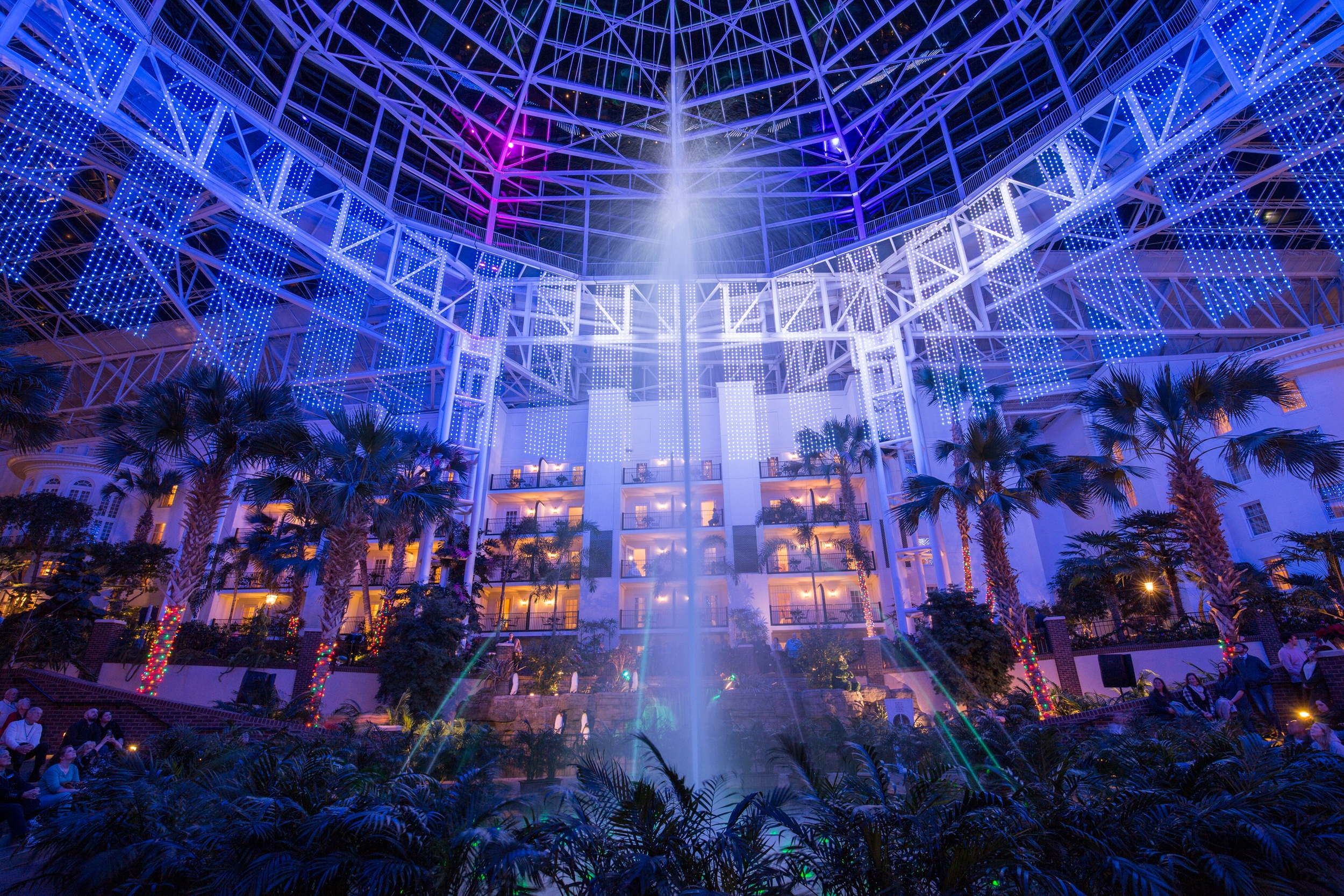 Delta Fountain Show at Gaylord Opryland