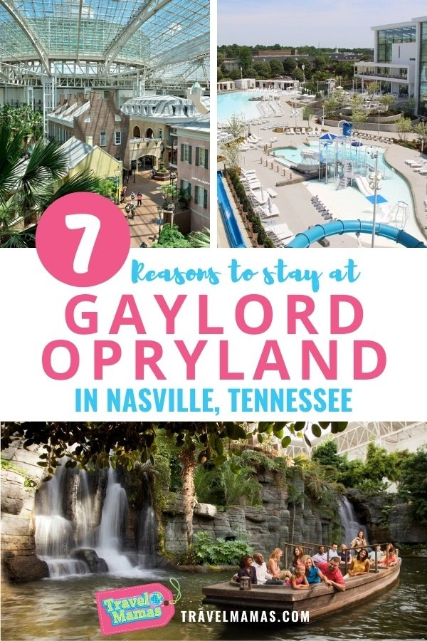 Things to Do at Gaylord Opryland with Kids in Nashville, Tennessee