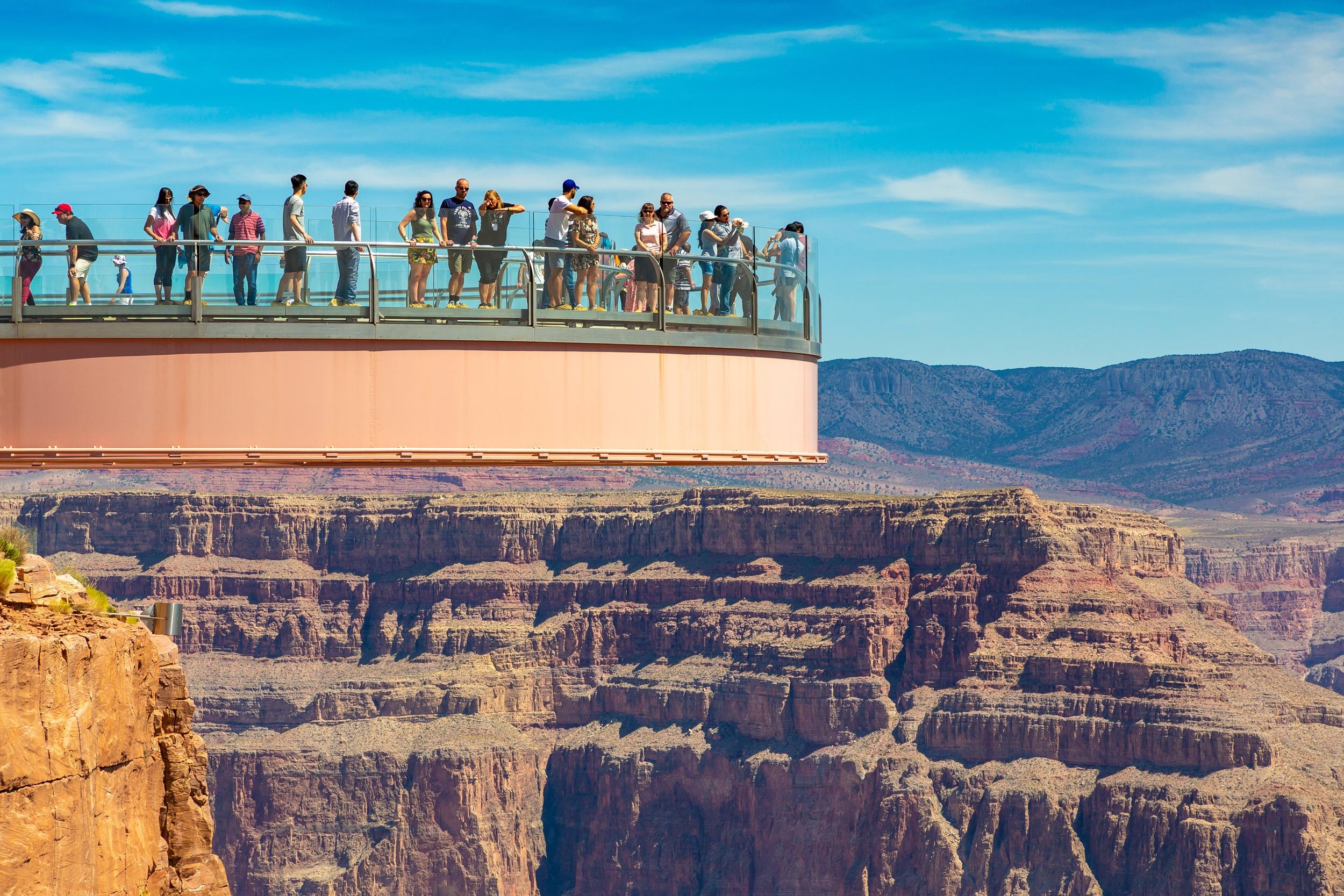 Grand Canyon Skywalk at Grand Canyon West