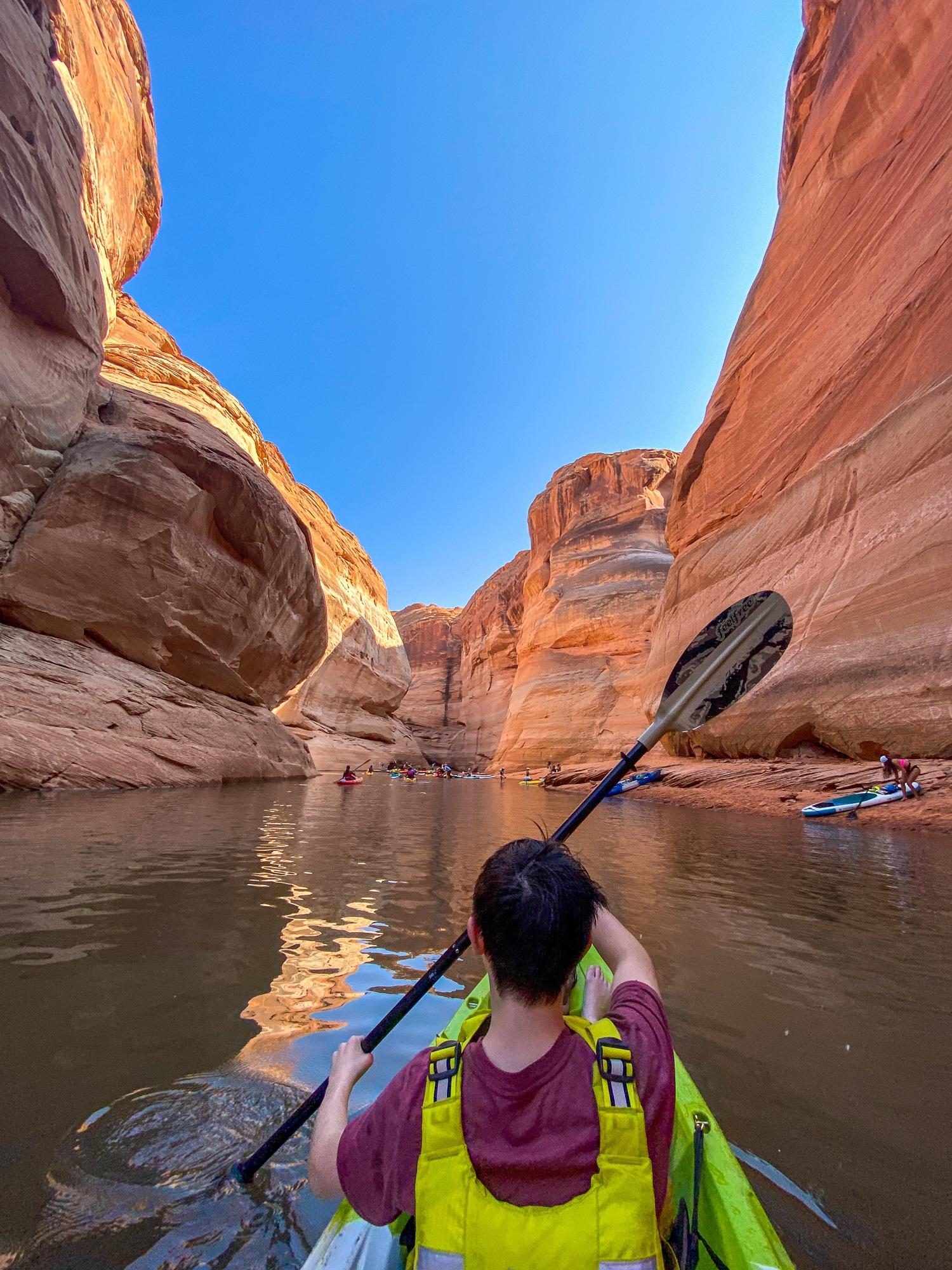 Antelope Canyon kayaking tour