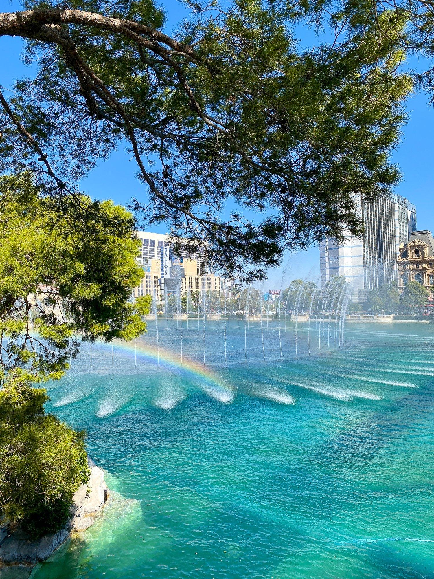 Fountains of Bellagio on the Las Vegas Strip