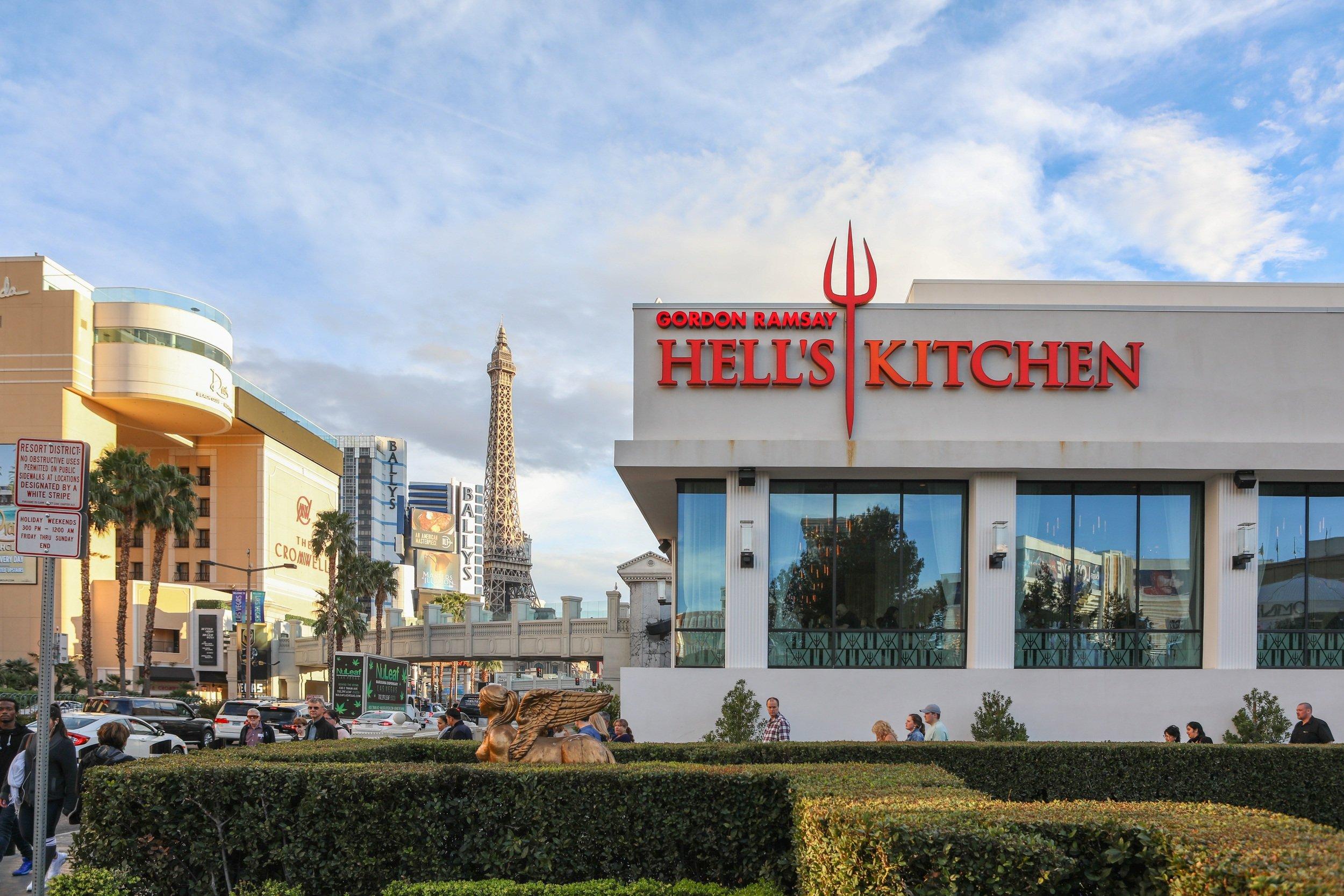 Gordon Ramsey's Hell's Kitchen in Las Vegas