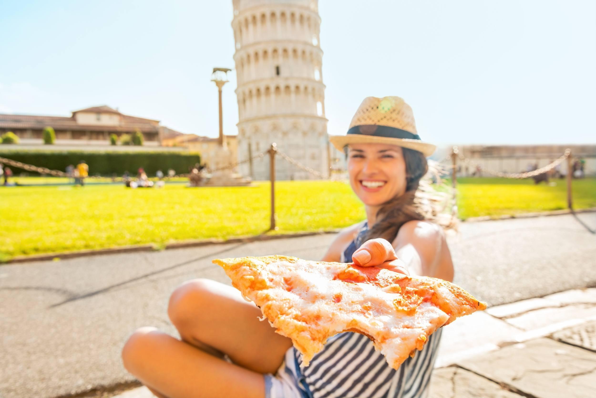 Pizza in Pisa