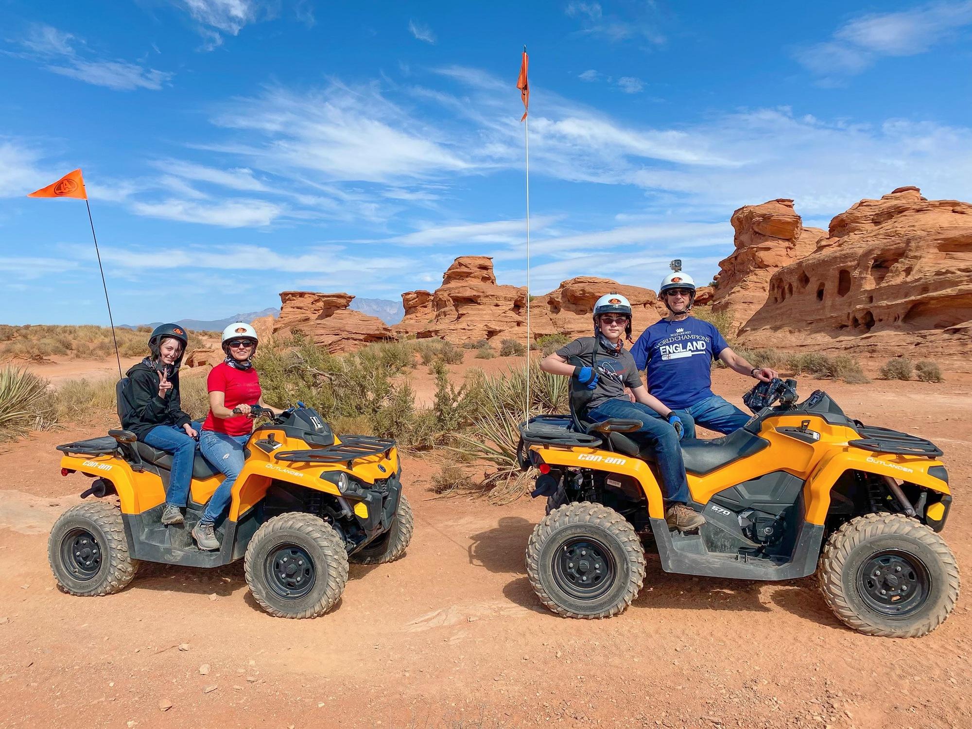 Sand Hallow State Park ATV tour