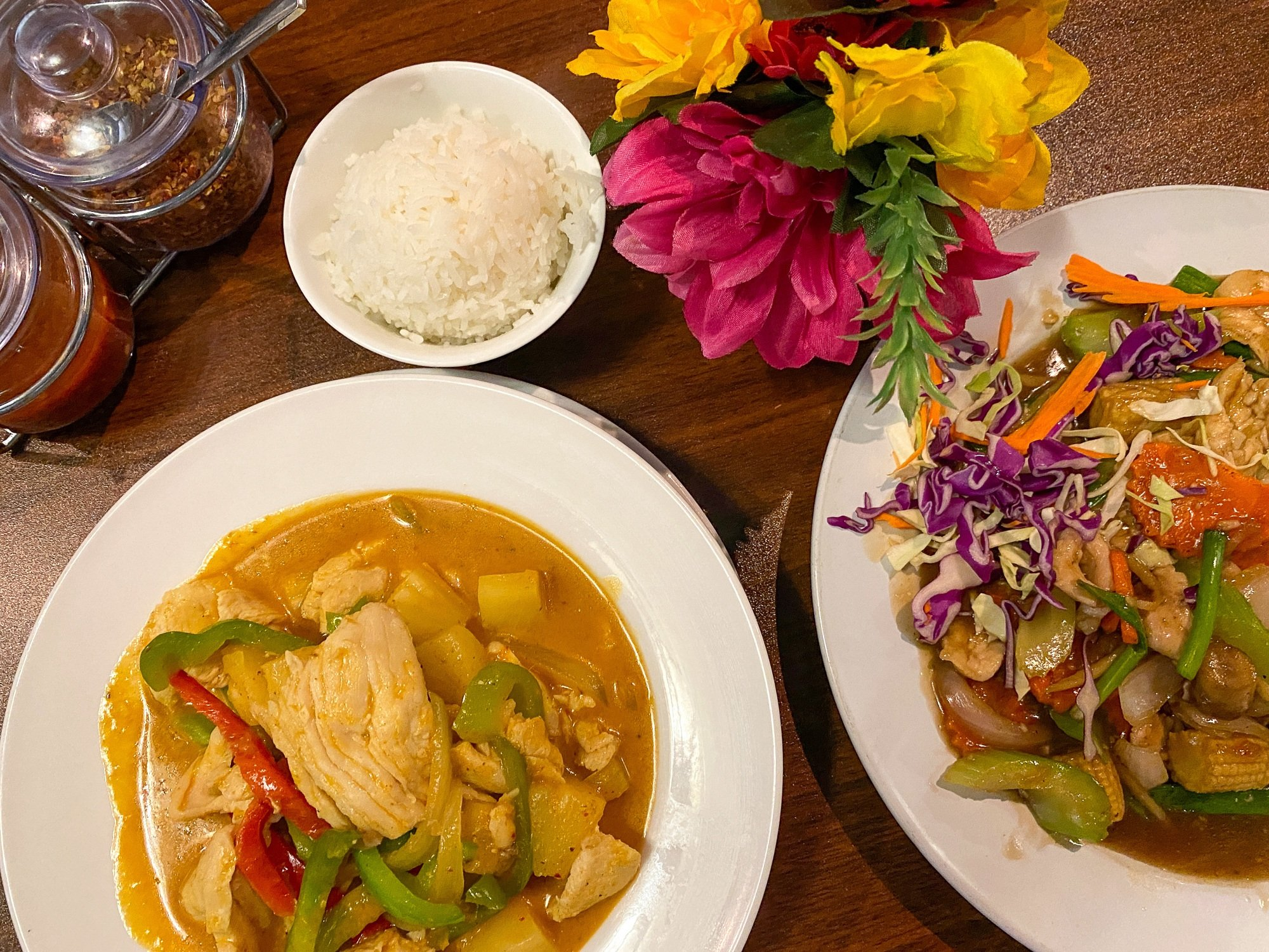 Extremely good Thai food at Banana Blossom in St. George