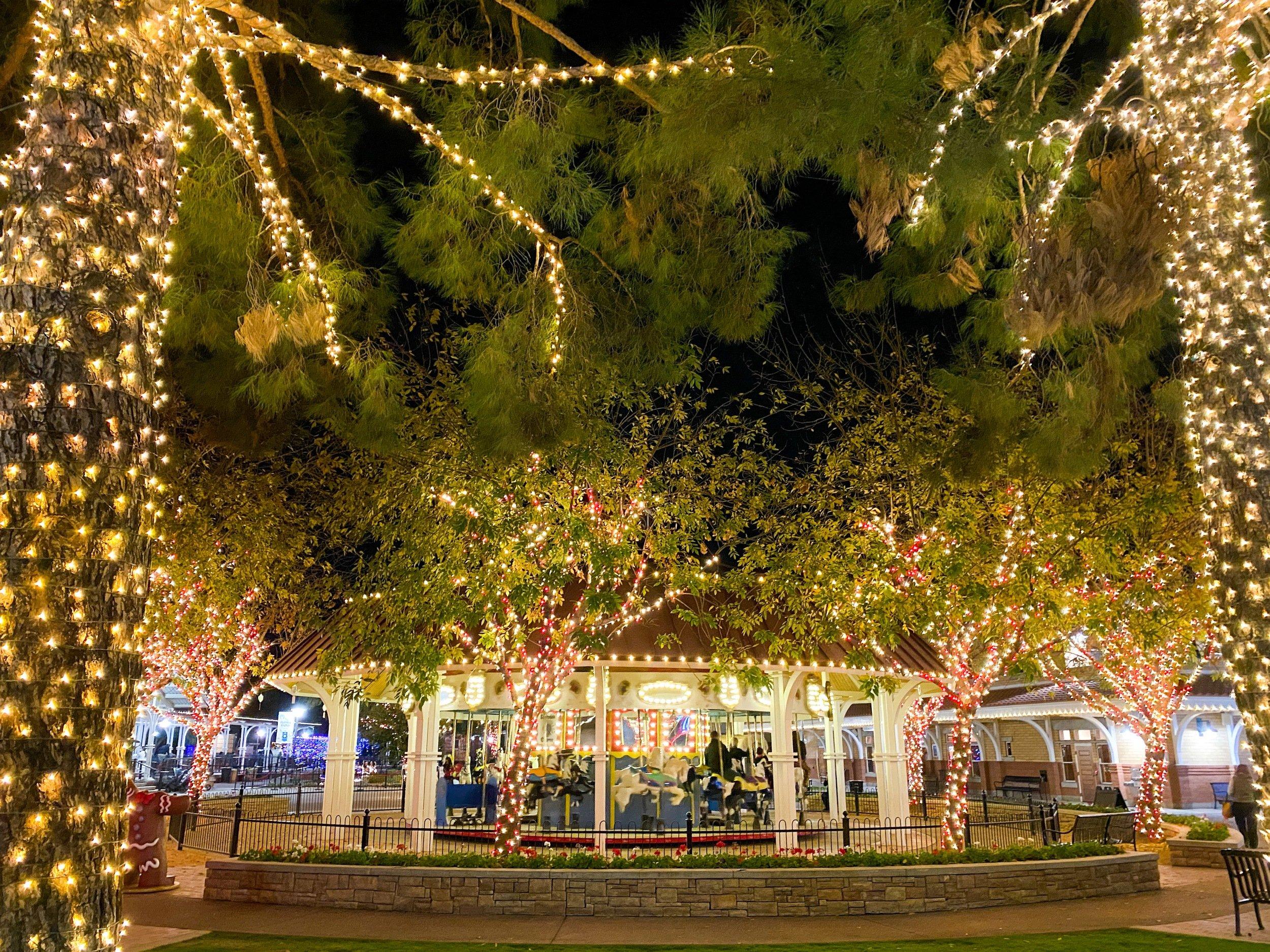 The Charro Carousel at Scottsdale's McCormick-Stillman Railroad Park