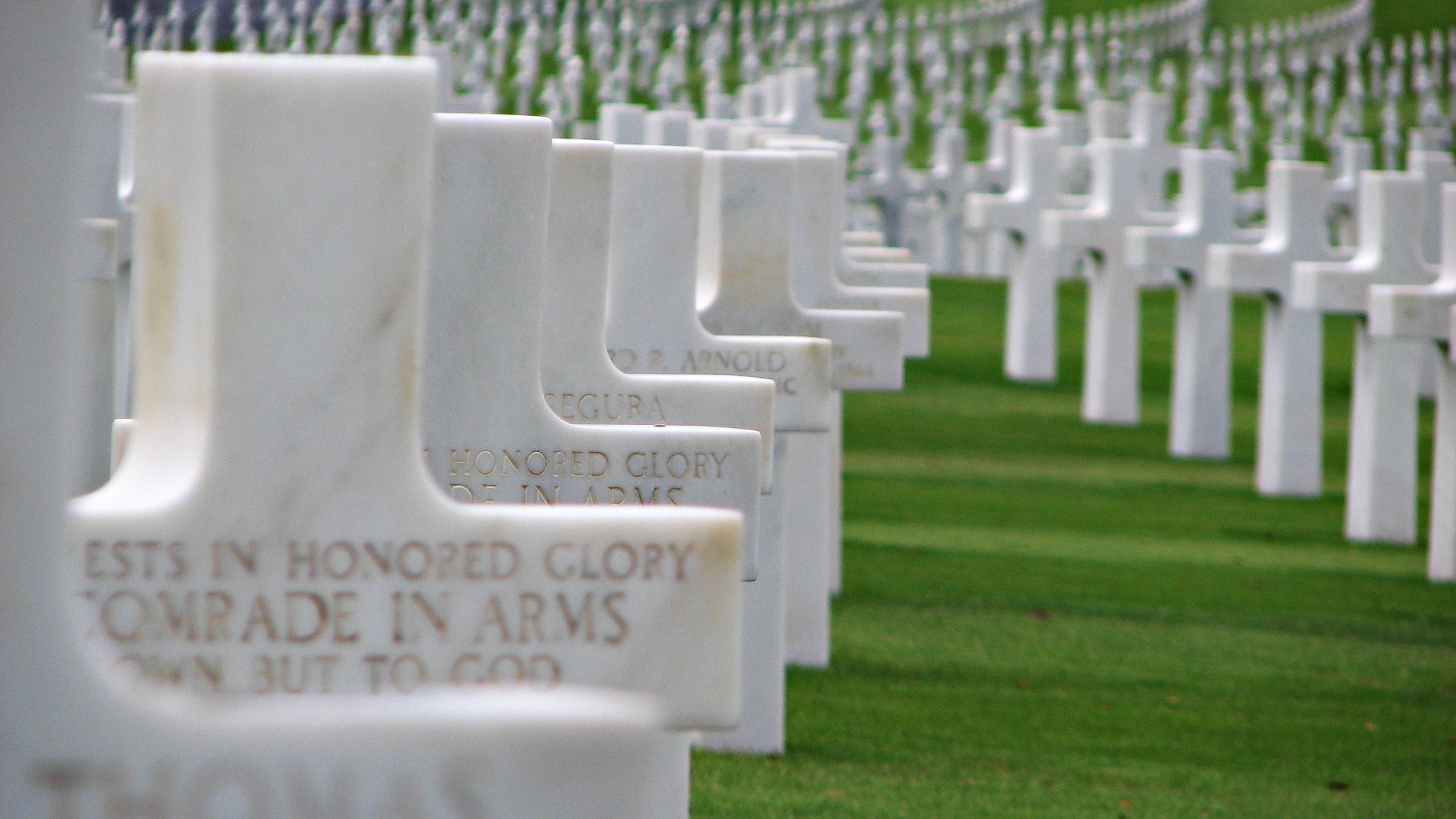 Beny-sur-Mer Canadian War Cemetery in France