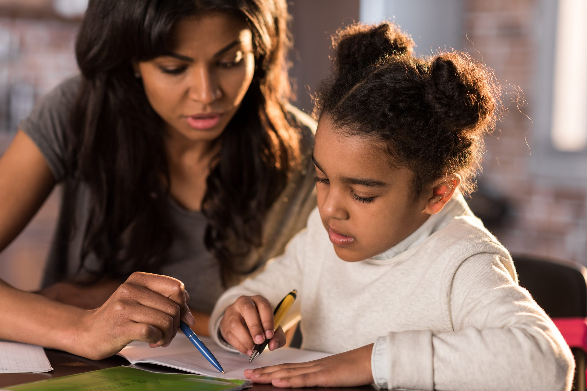 Help your tween succeed by assisting with homework as needed
