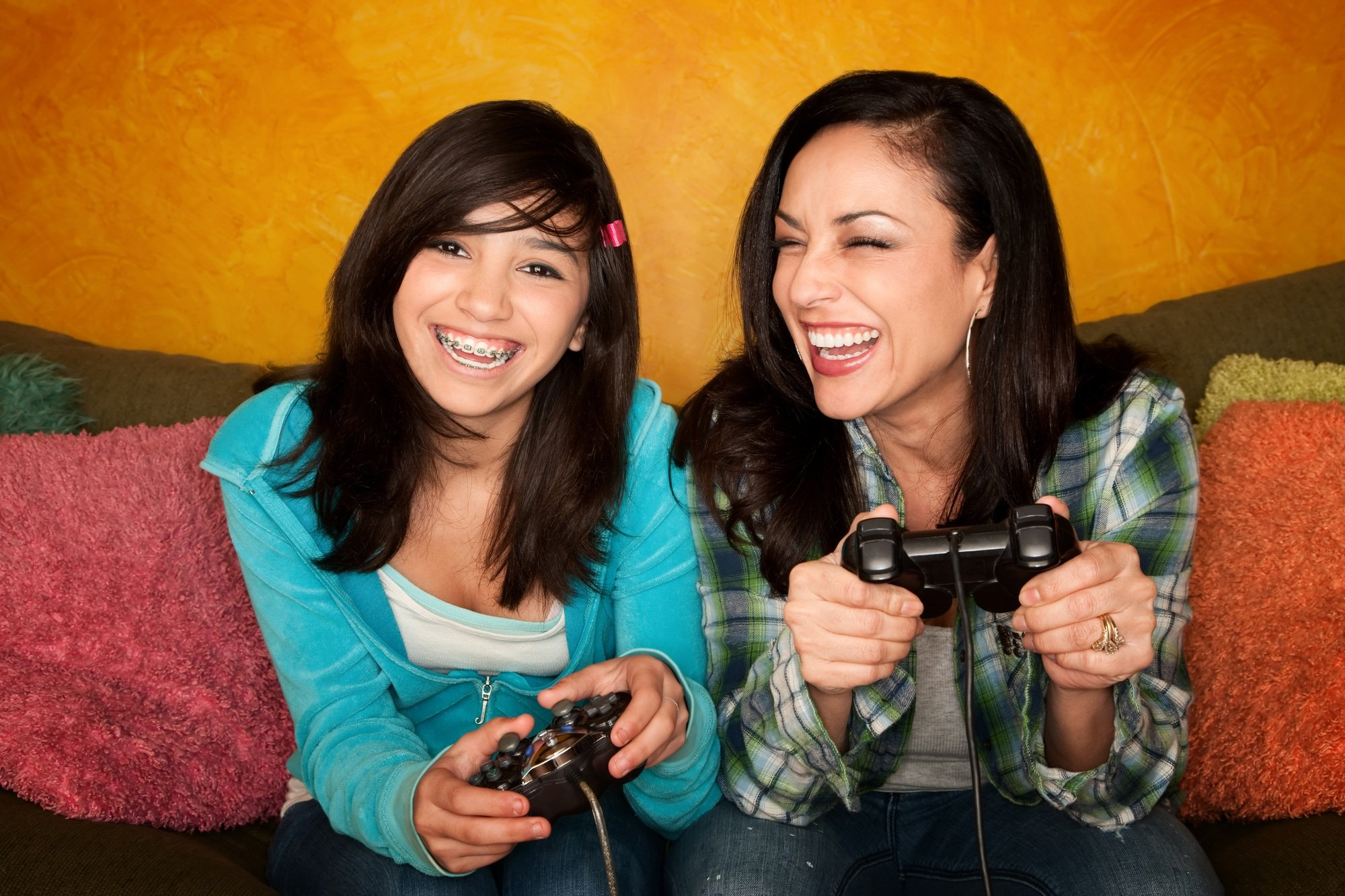 Play your daughter's favorite video game with her