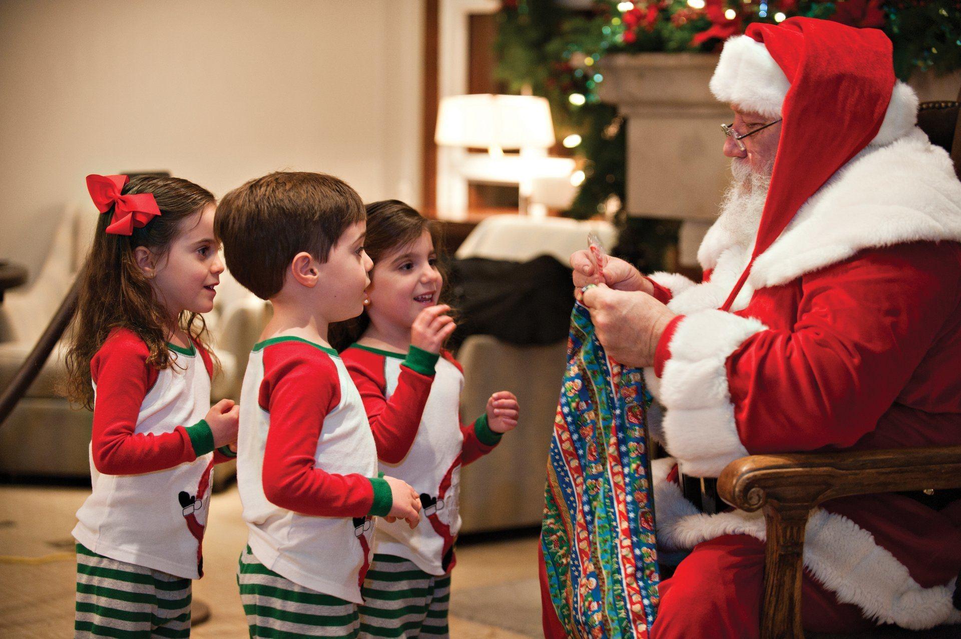 Santa Claus at Christmas at the Fairmont Scottsdale Princess