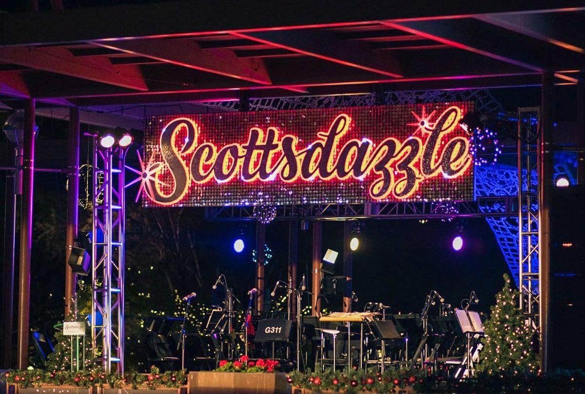 Scottsdazzle Tree Lighting Ceremony festivities