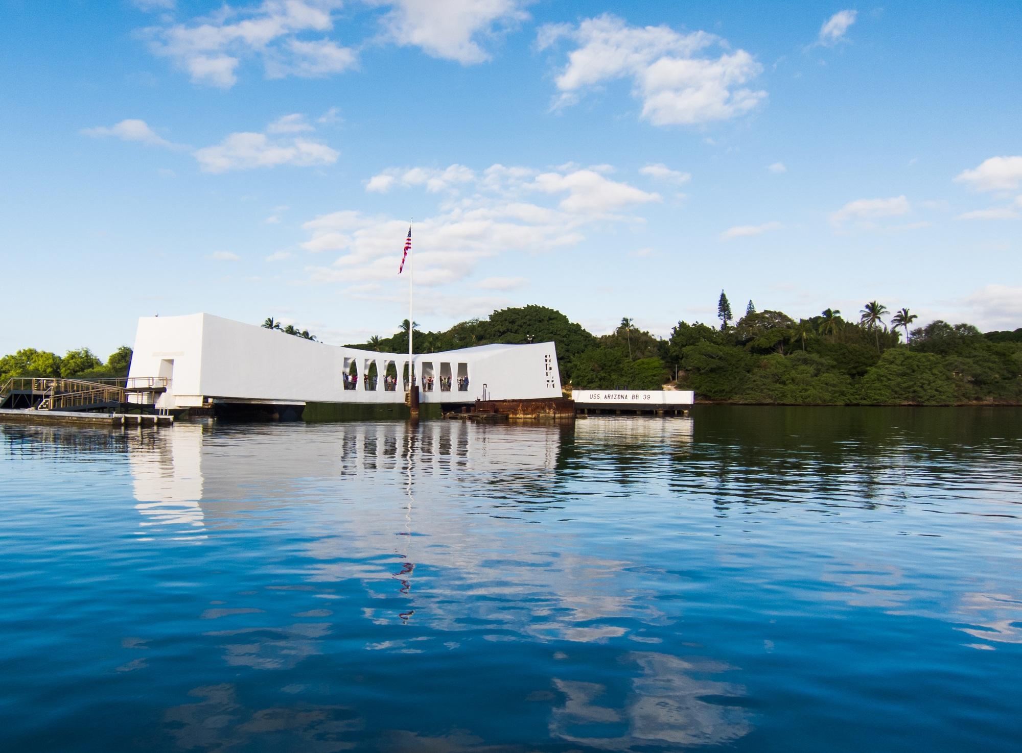 Pearl Harbor Memorial in Hawaii