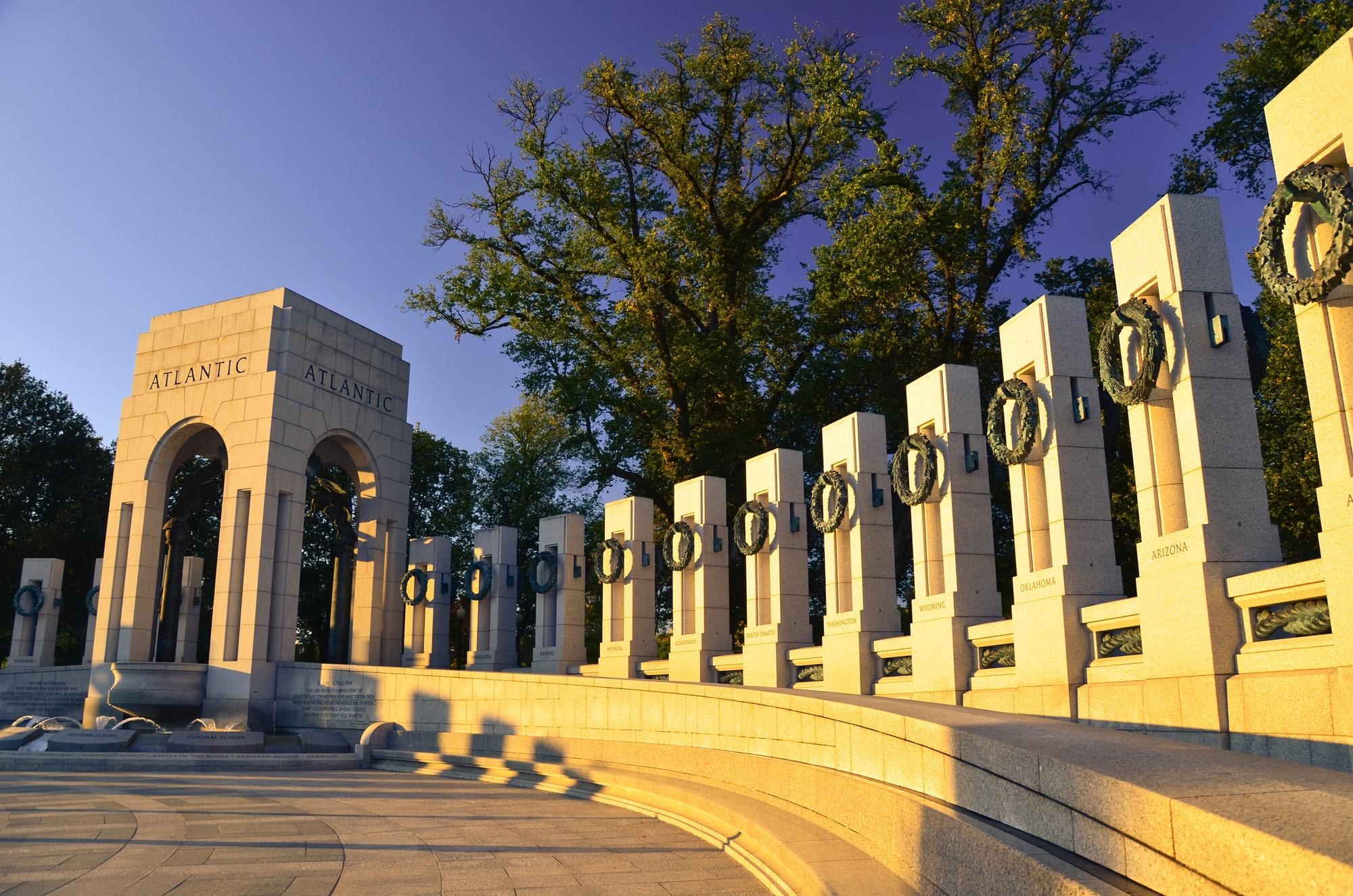 World War II Memorial in Washington D.C.