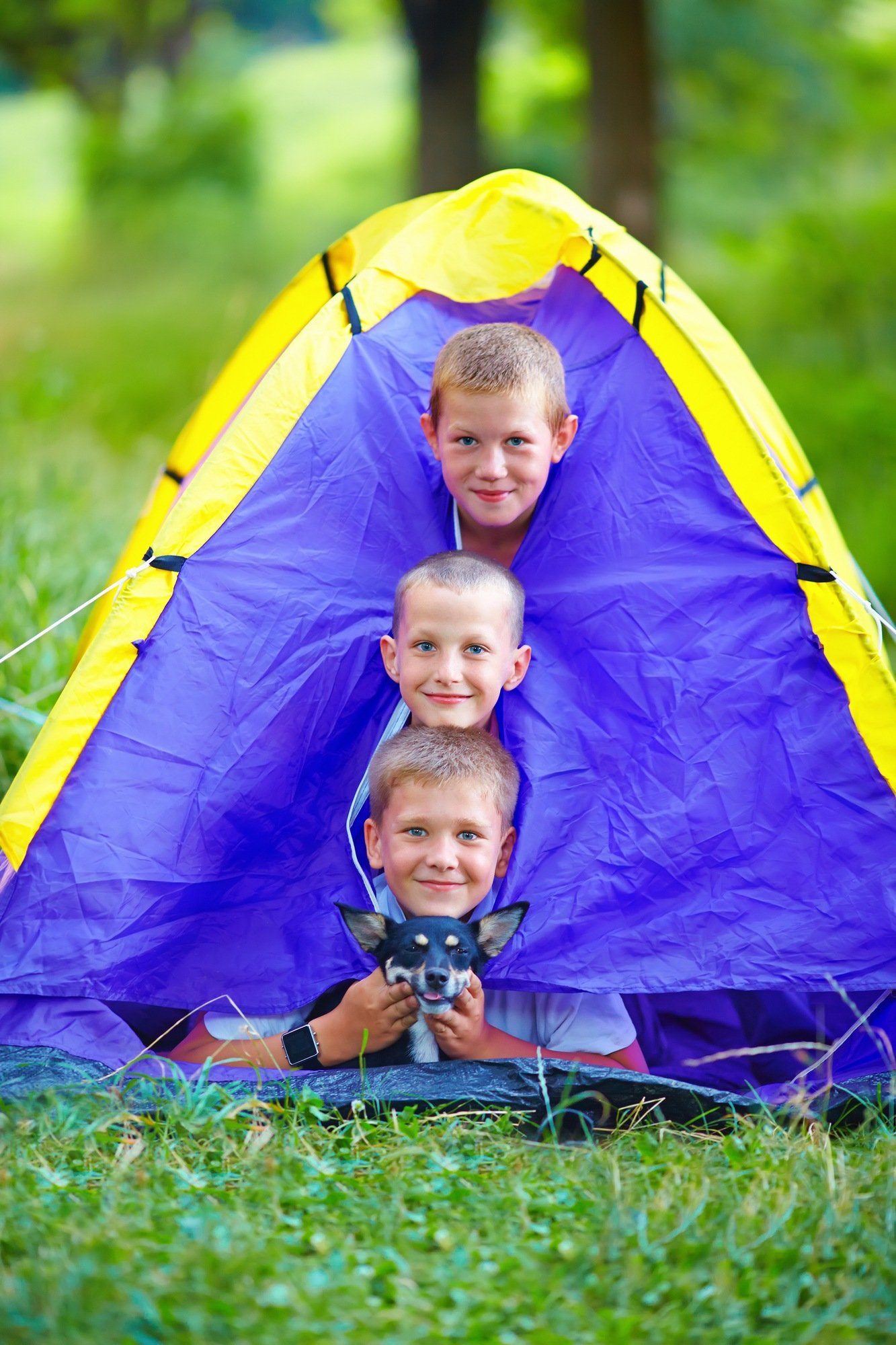 Follow these camping tips for a fun and safe trip with kids!