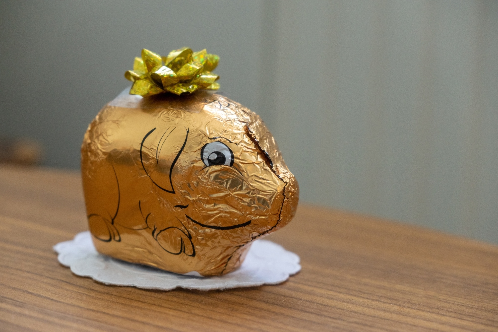 Look for golden pigs made of chocolate in the Czech Republic and Slovakia at Christmastime