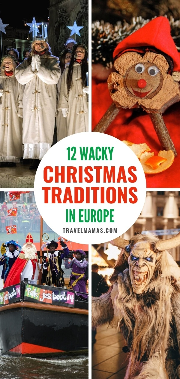 12 Wacky Christmas Traditions in Europe