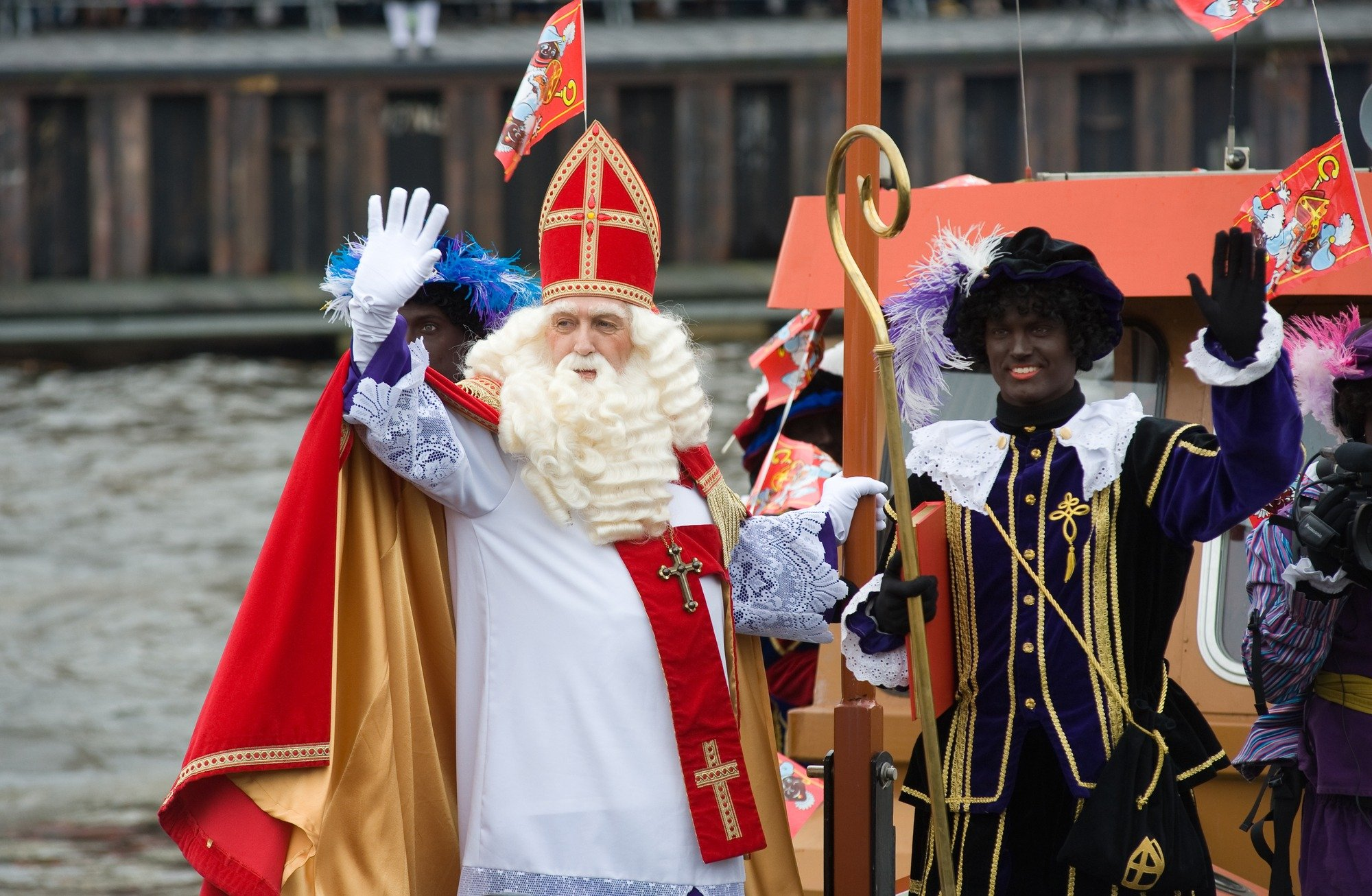 Sinterklaas and Black Peter are wacky and controversial traditions in Europe