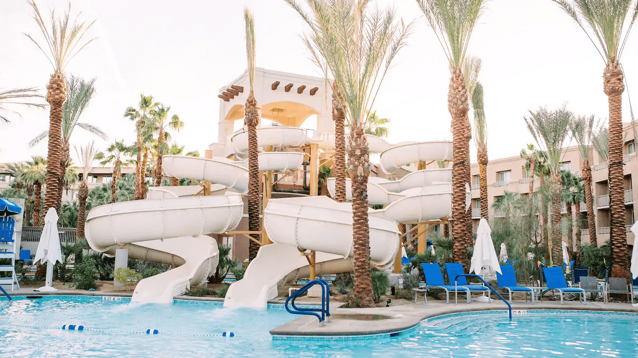 Hyatt Regency Indian Wells Resort and Spa's HyTides Plunge water park