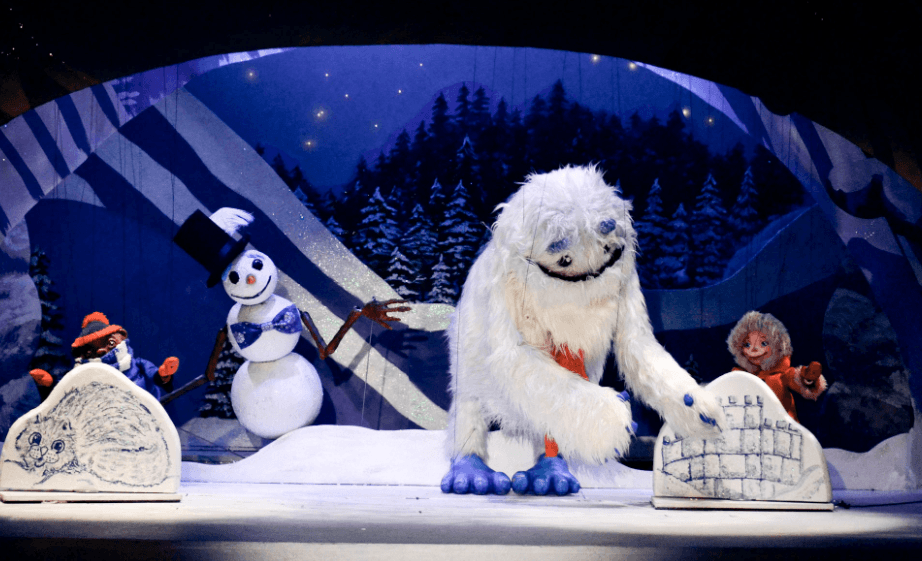 A wintry show at Swedish Cottage Marionette Theatre
