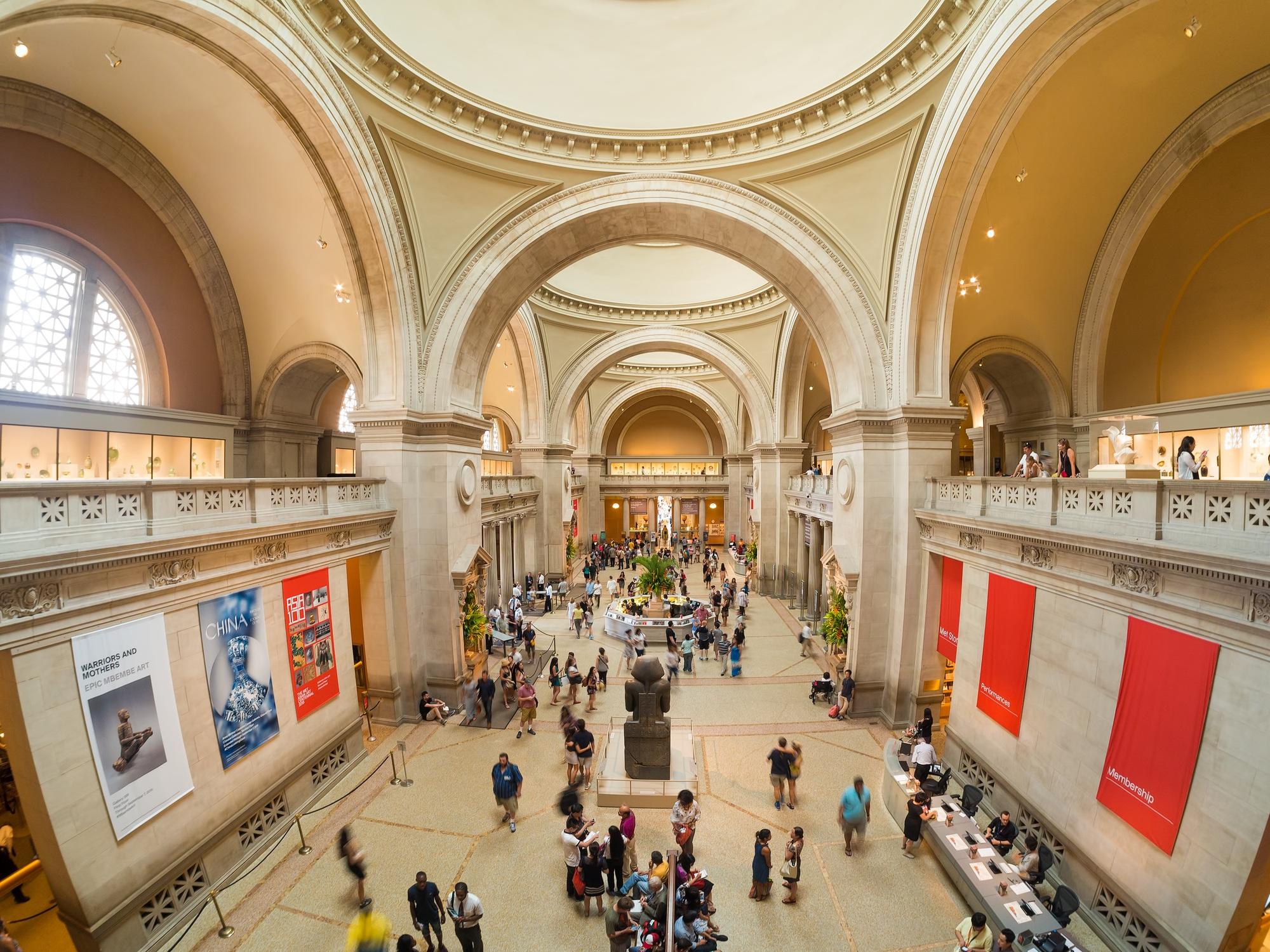 Metropolitan Museum of Art near Central Park