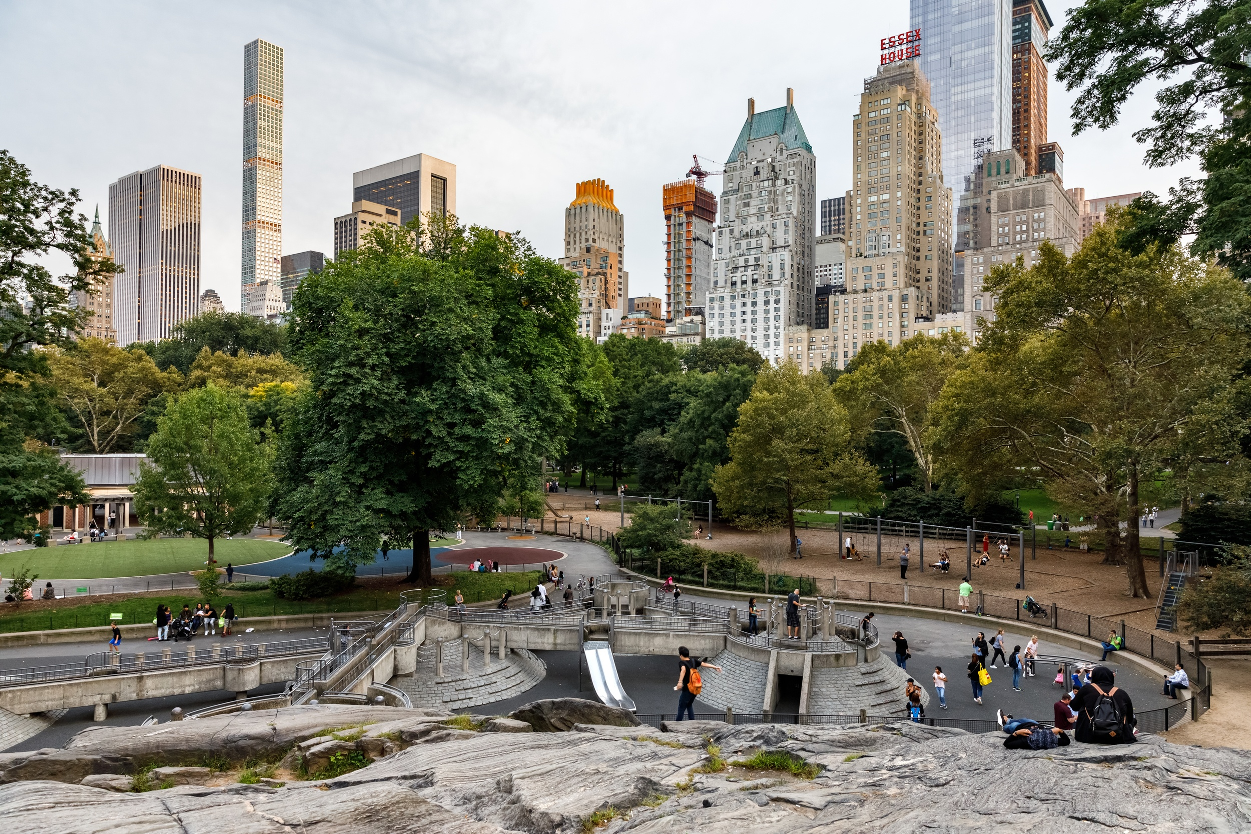 Ancient Playground in Central Park