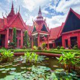 Phnom Penh, Cambodia Royal Palace Koi Pond