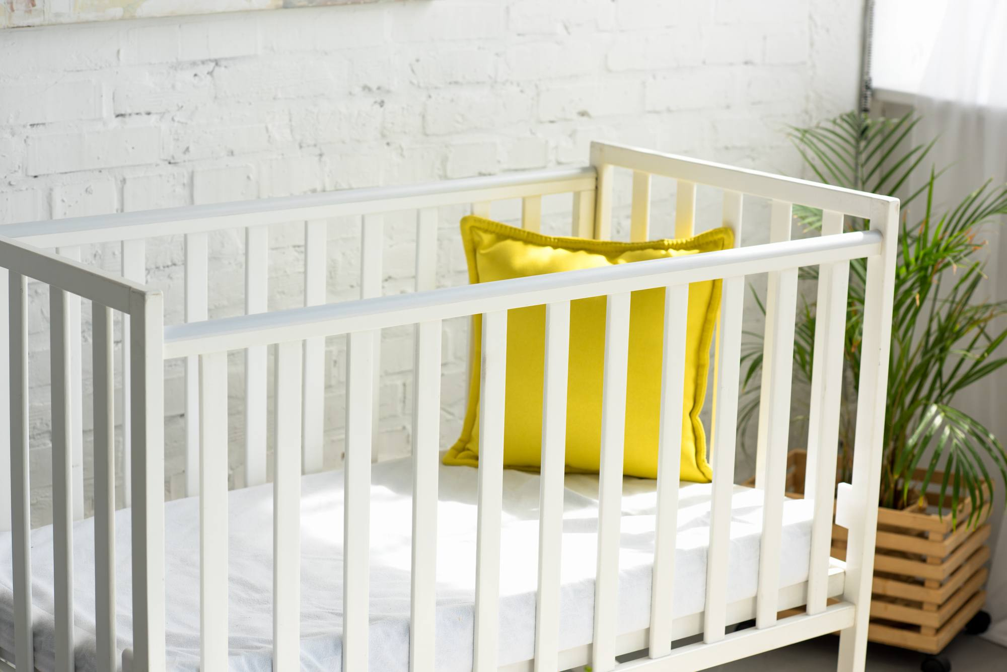 Many babies sleep better in a full-sized crib when traveling
