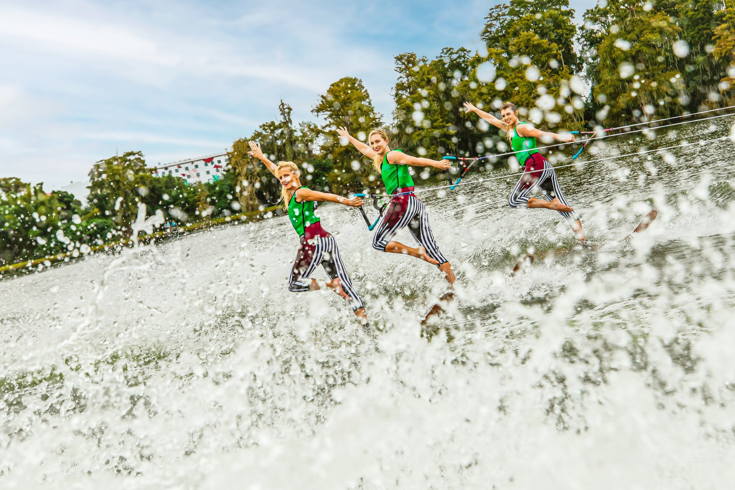 Pirate-themed waterski show at Legoland Florida