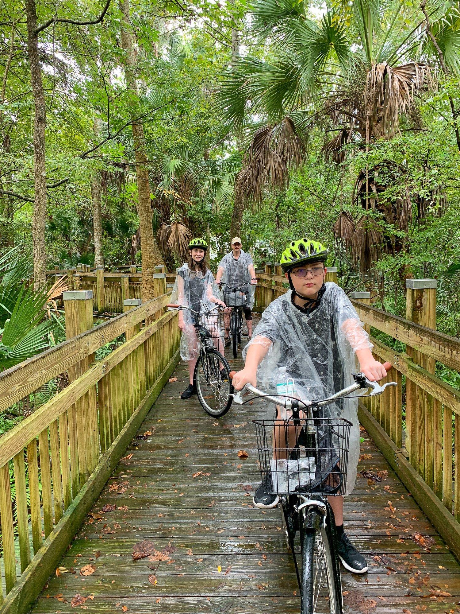Guided family bike tour with Celebration Bike Rental