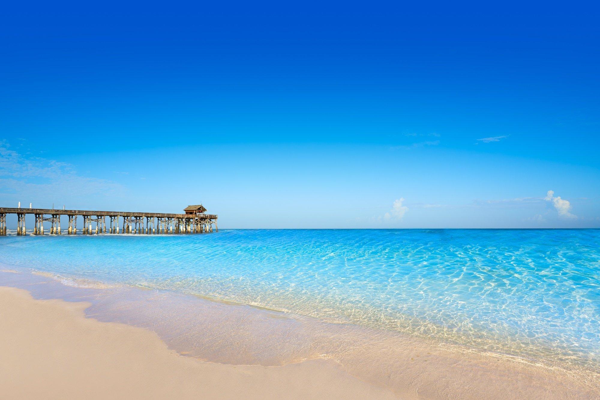Cocoa Beach in Cape Canaveral near Orlando