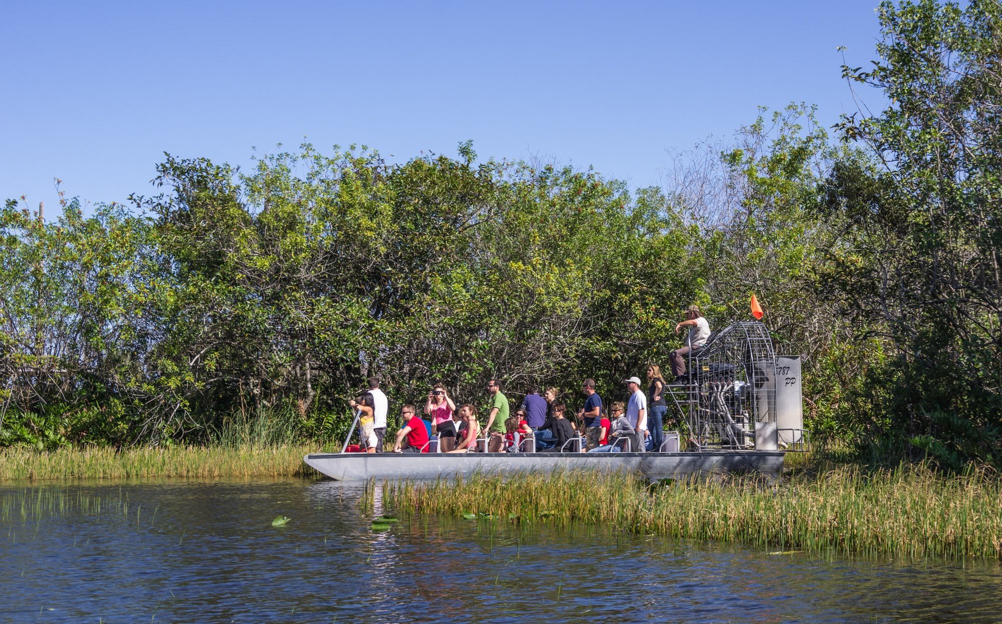 Everglades airboat tour