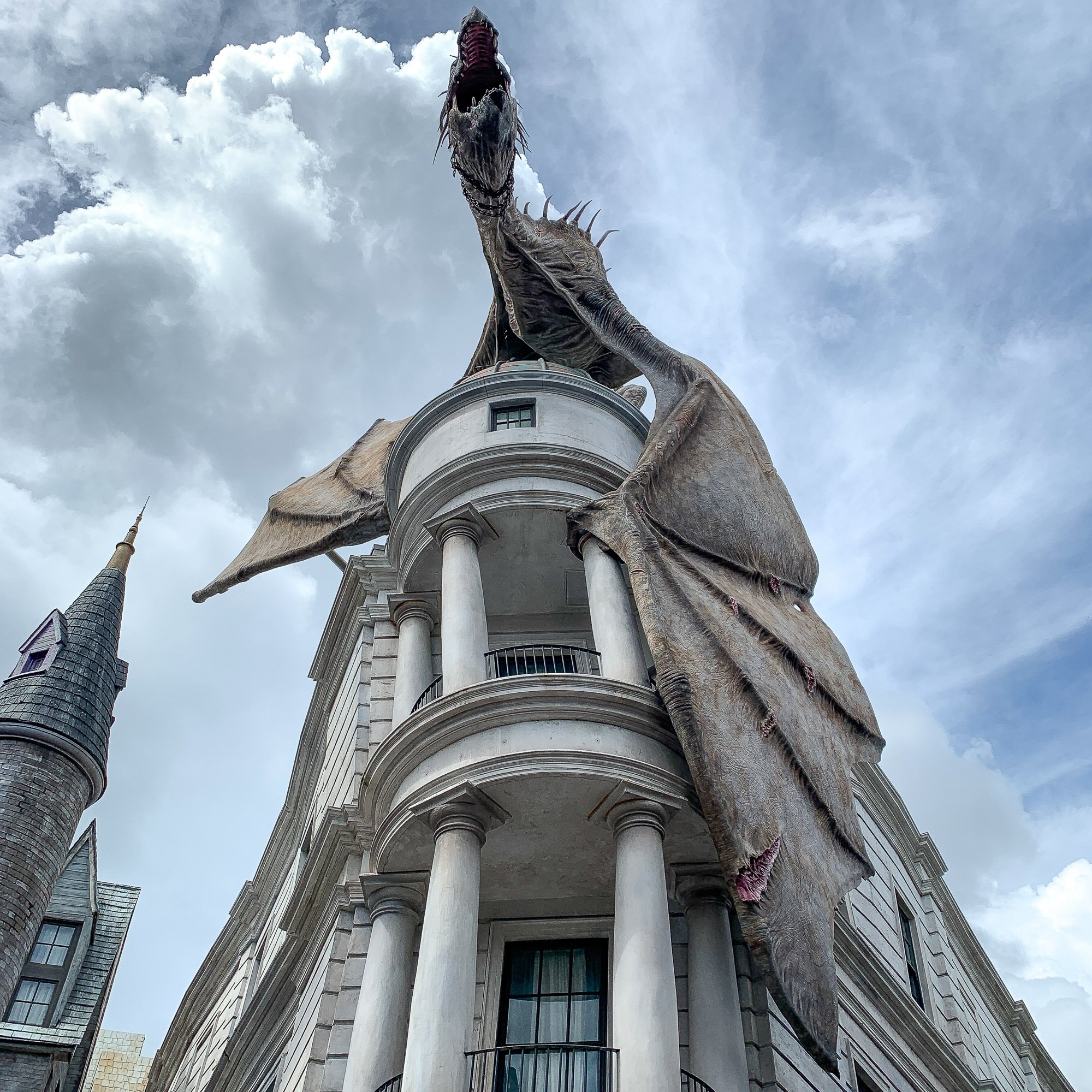 Harry Potter and the Escape from Gringotts at Universal Studios