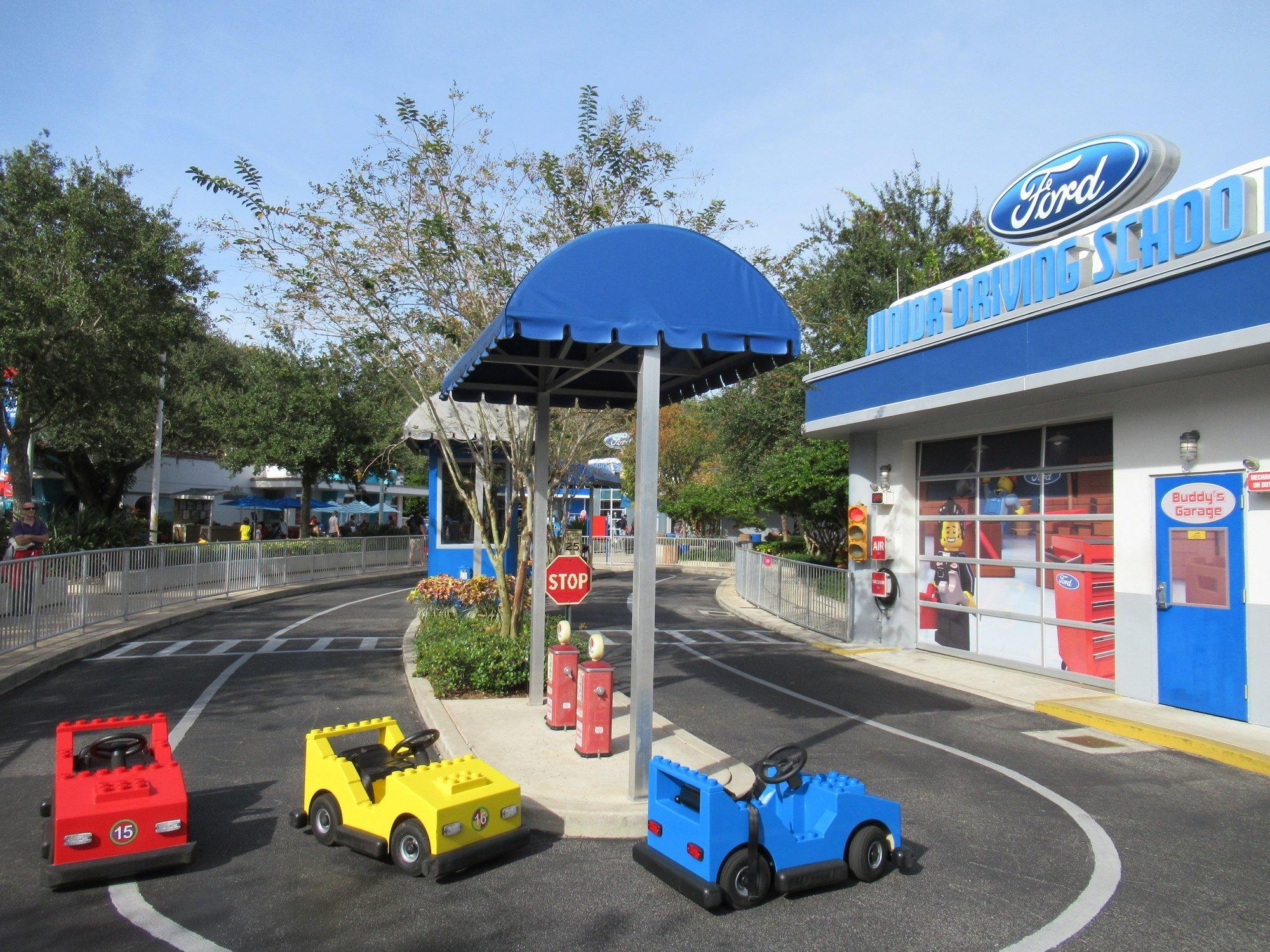 Legoland Florida Ford Driving School for kids